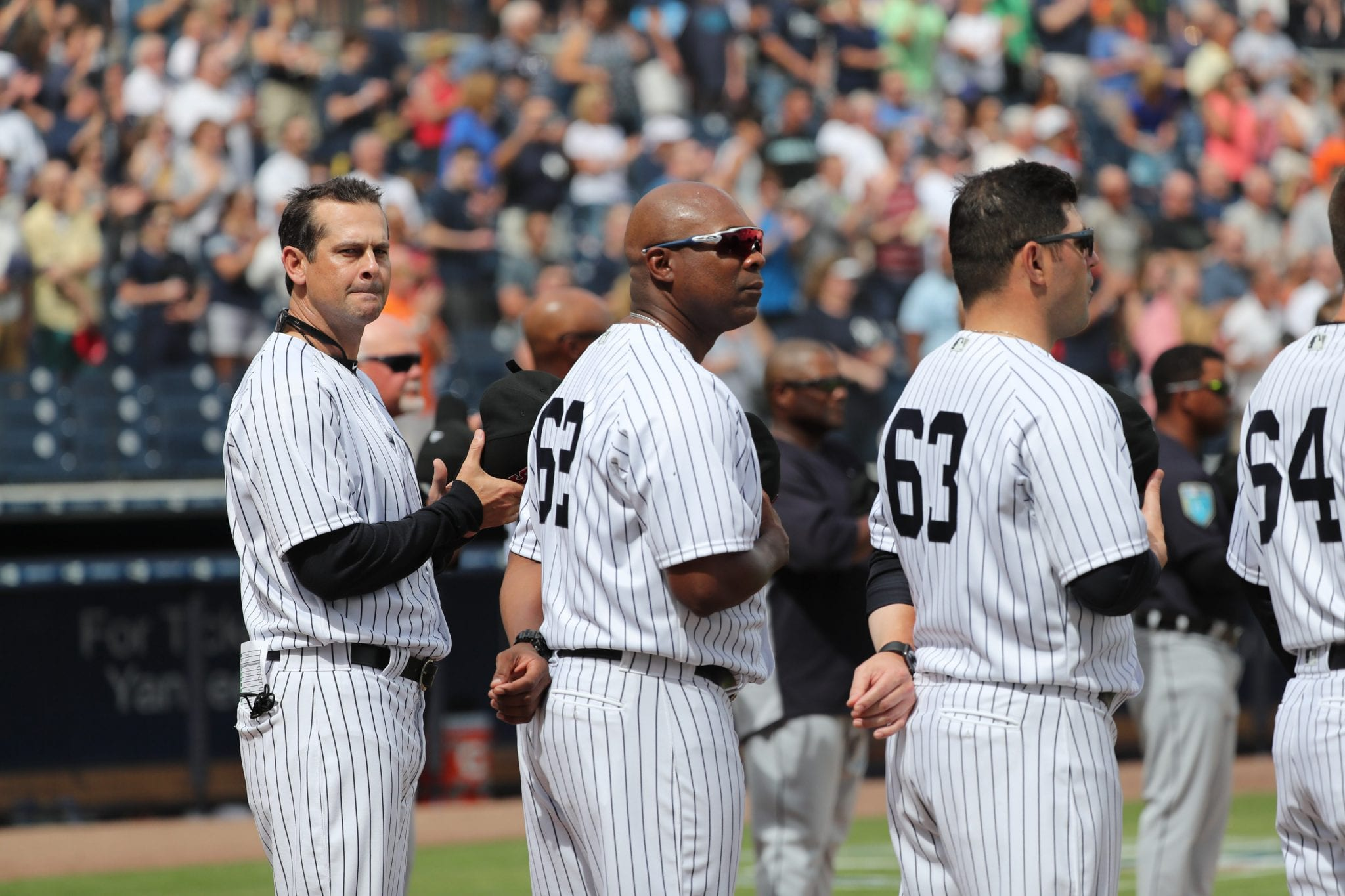 New York Yankees: Hitting coach Marcus Thames and 3rd base coach Phil Nevin are gone