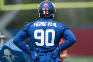 Jason Pierre-Paul has aggressive words for Giants in Monday night showdown