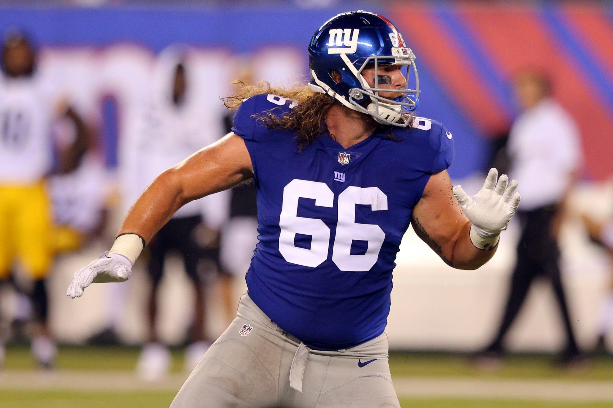 f8eb518cdcd New York Giants Make Roster Cuts, Including 2017 Pick Bisnowaty