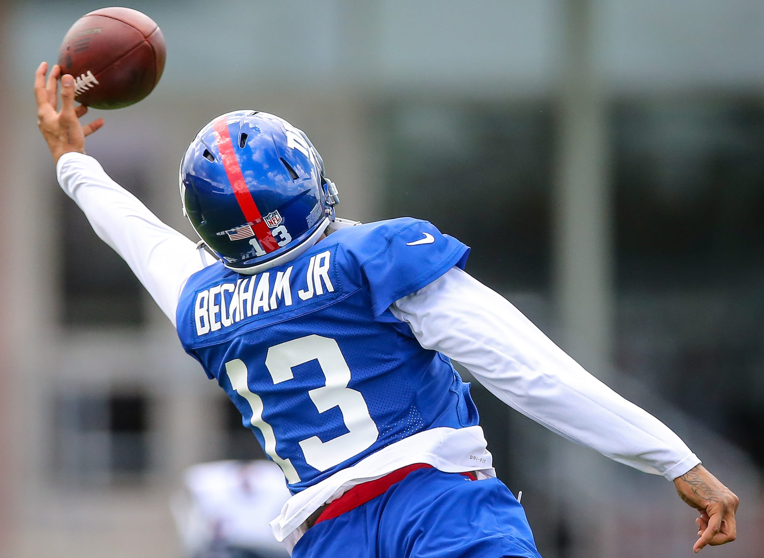 Tiki Barber Backs New York Giants In Odell Beckham Jr. Trade