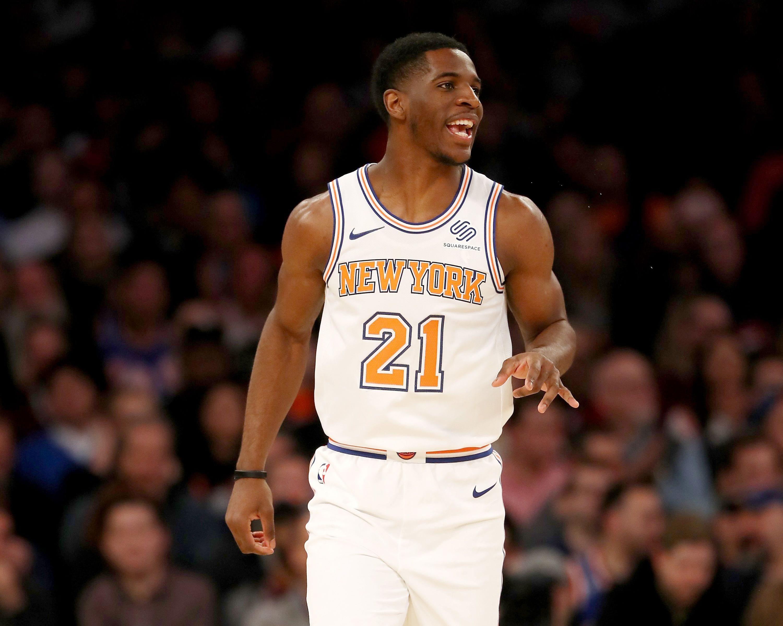 New York Knicks, Damyean Dotson