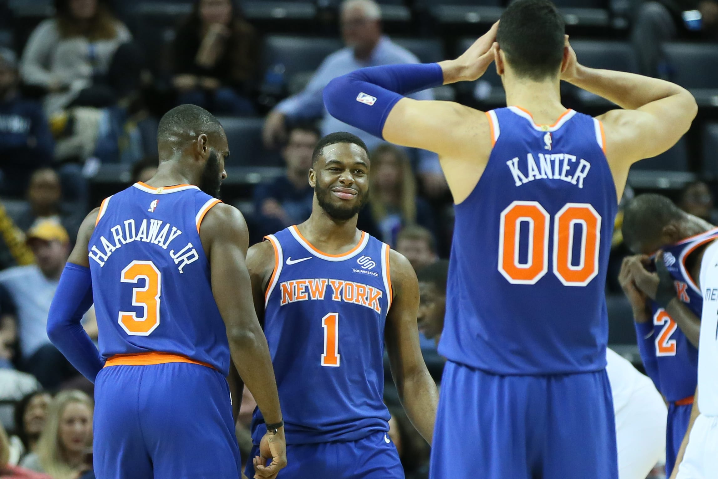 Grading The New York Knicks Players So Far In The 2018