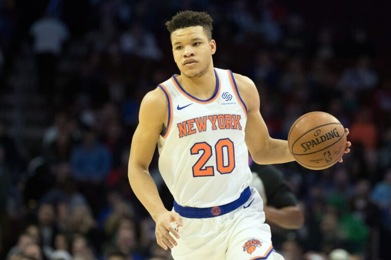New York Knicks, Kevin Knox