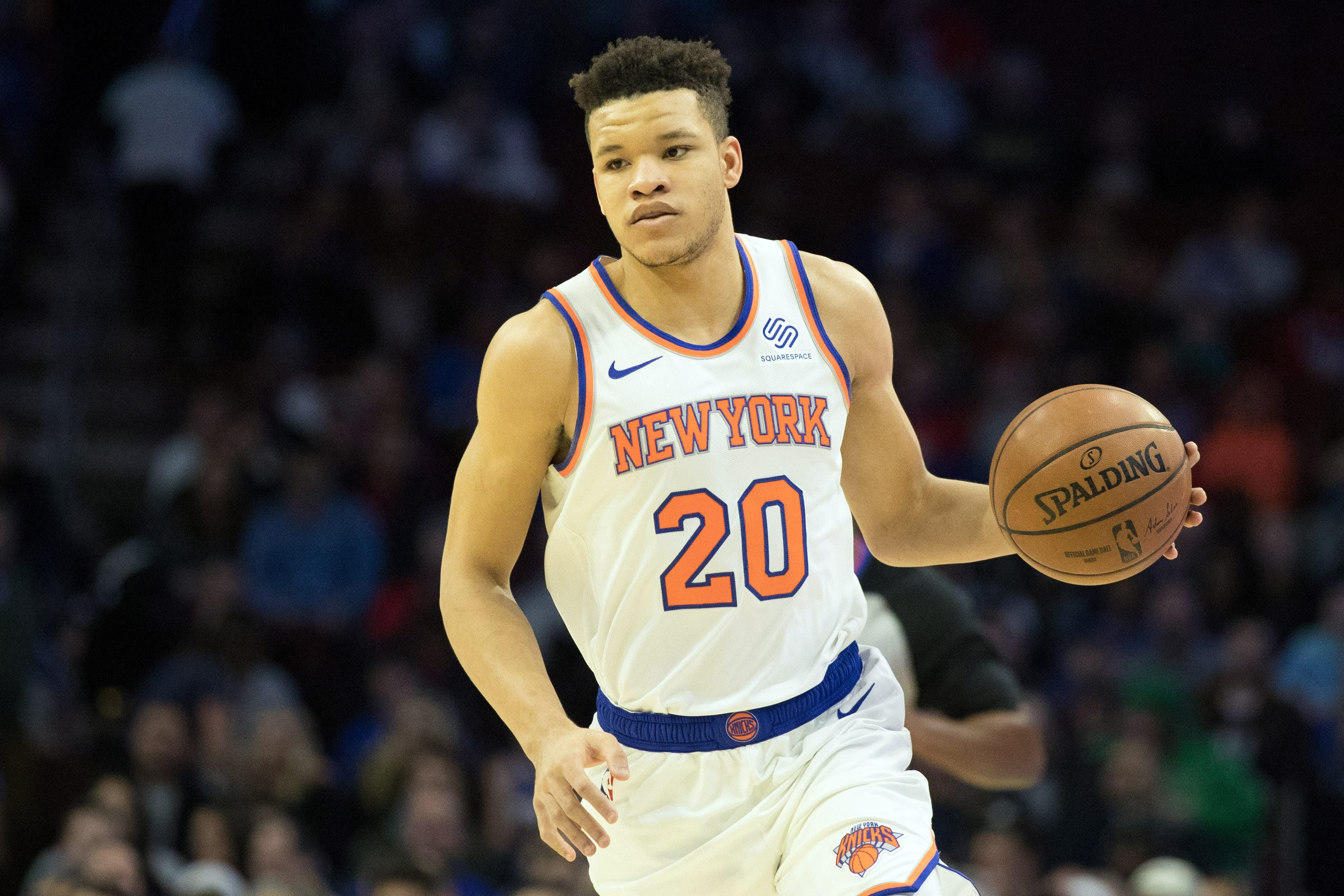 official photos 0db92 94830 New York Knicks: Will Kevin Knox finally reach his potential?