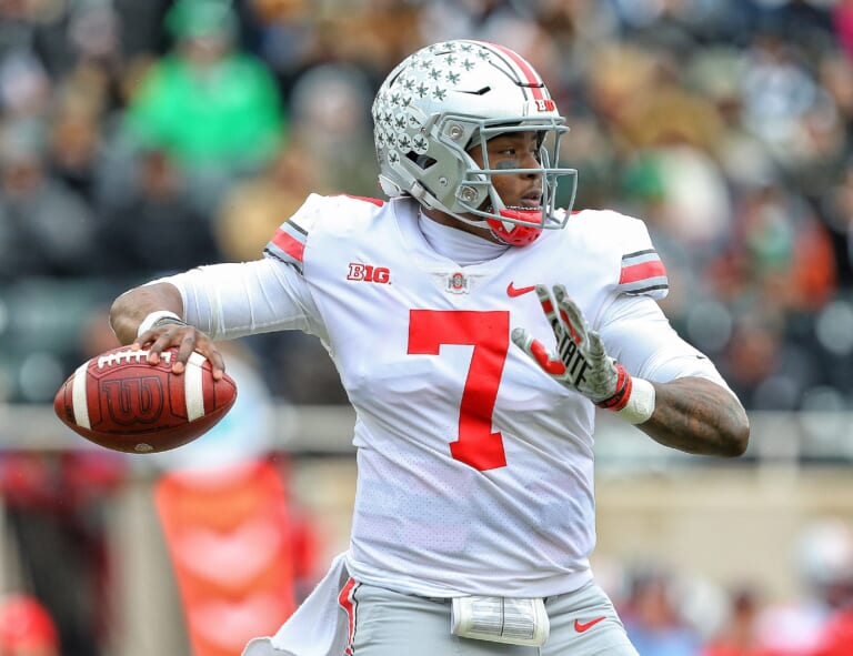 Could the New York Giants draft Dwayne Haskins with the No. 6 overall pick?