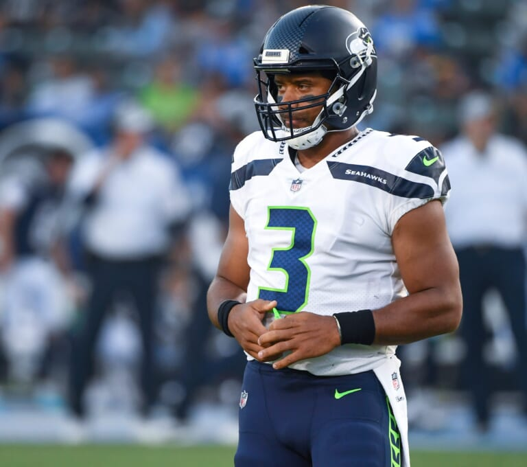 Could the New York Giants find a way to acquire Russell Wilson in a potential trade?