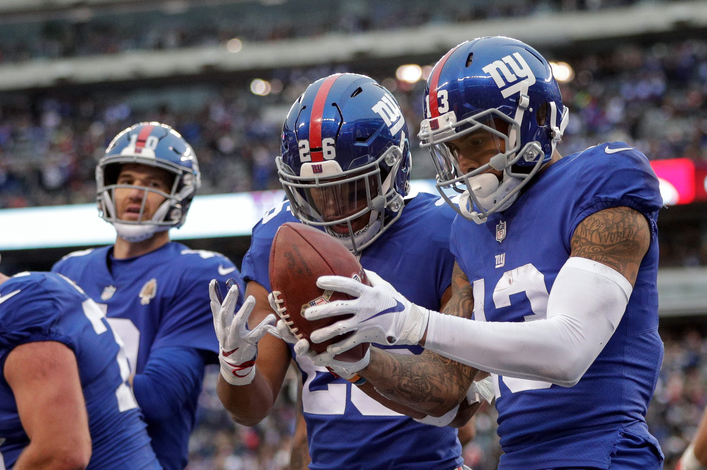 New York Giants, Odell Beckham Jr., Saquon Barkley