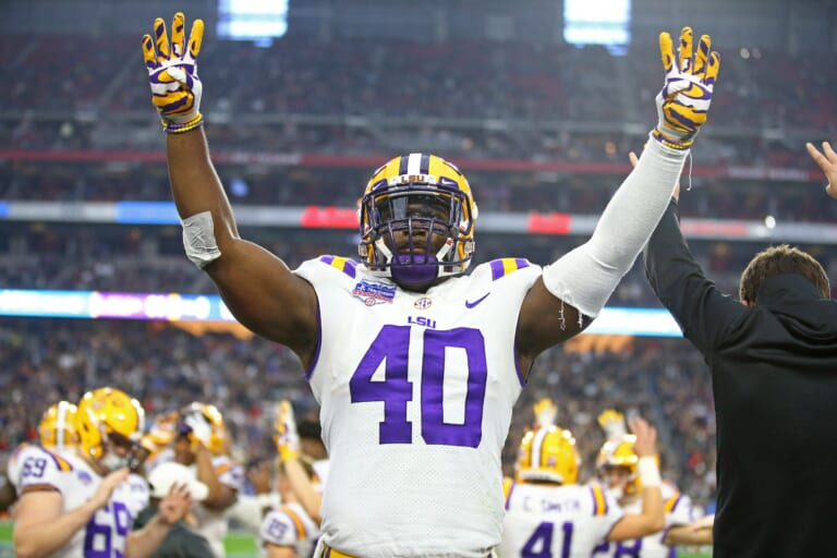 Should the New York Giants take Devin White with the 6th overall pick if he's available?