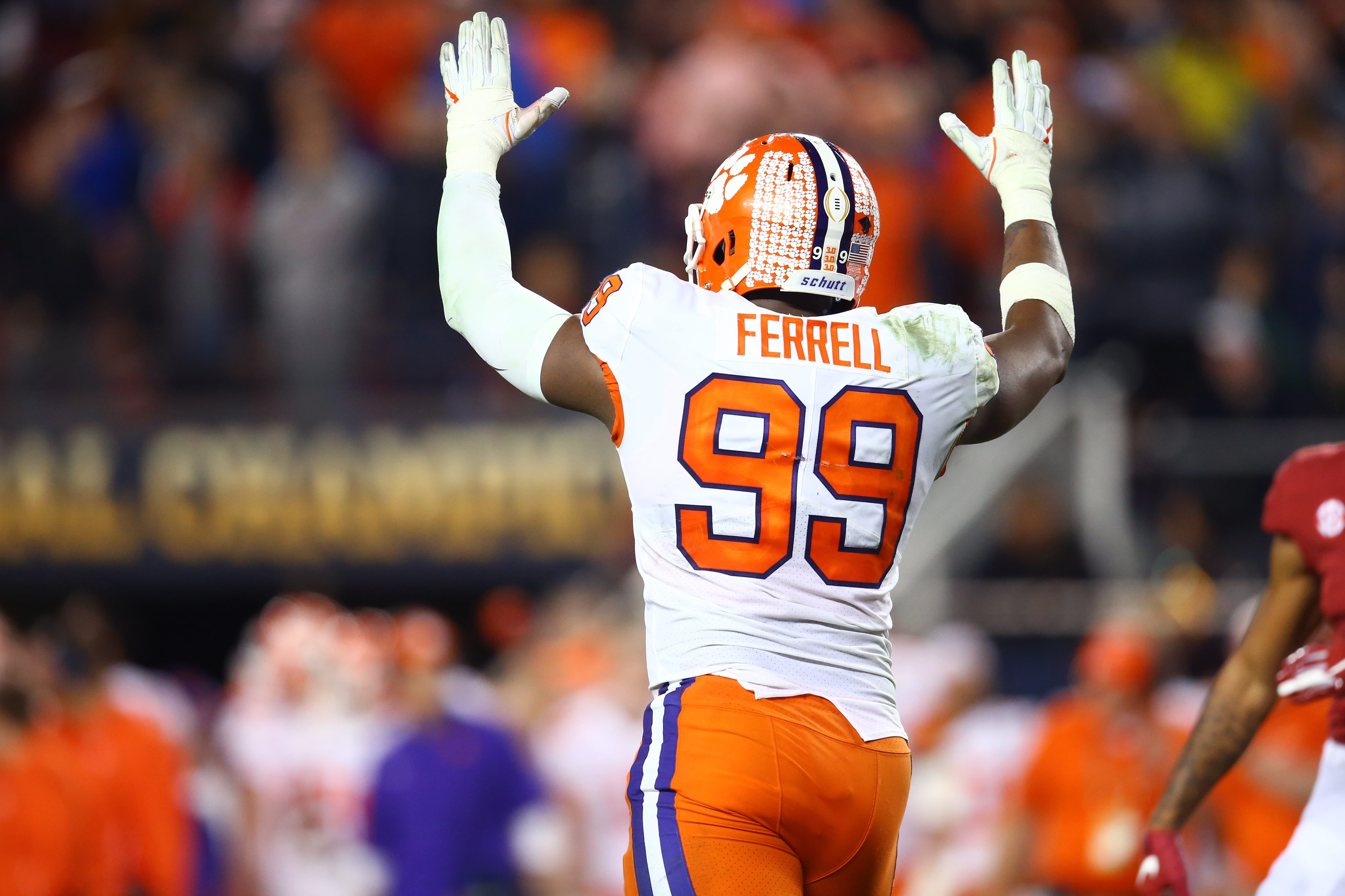 Should the New York Giants consider taking Clemson pass rusher, Clelin Ferrell?