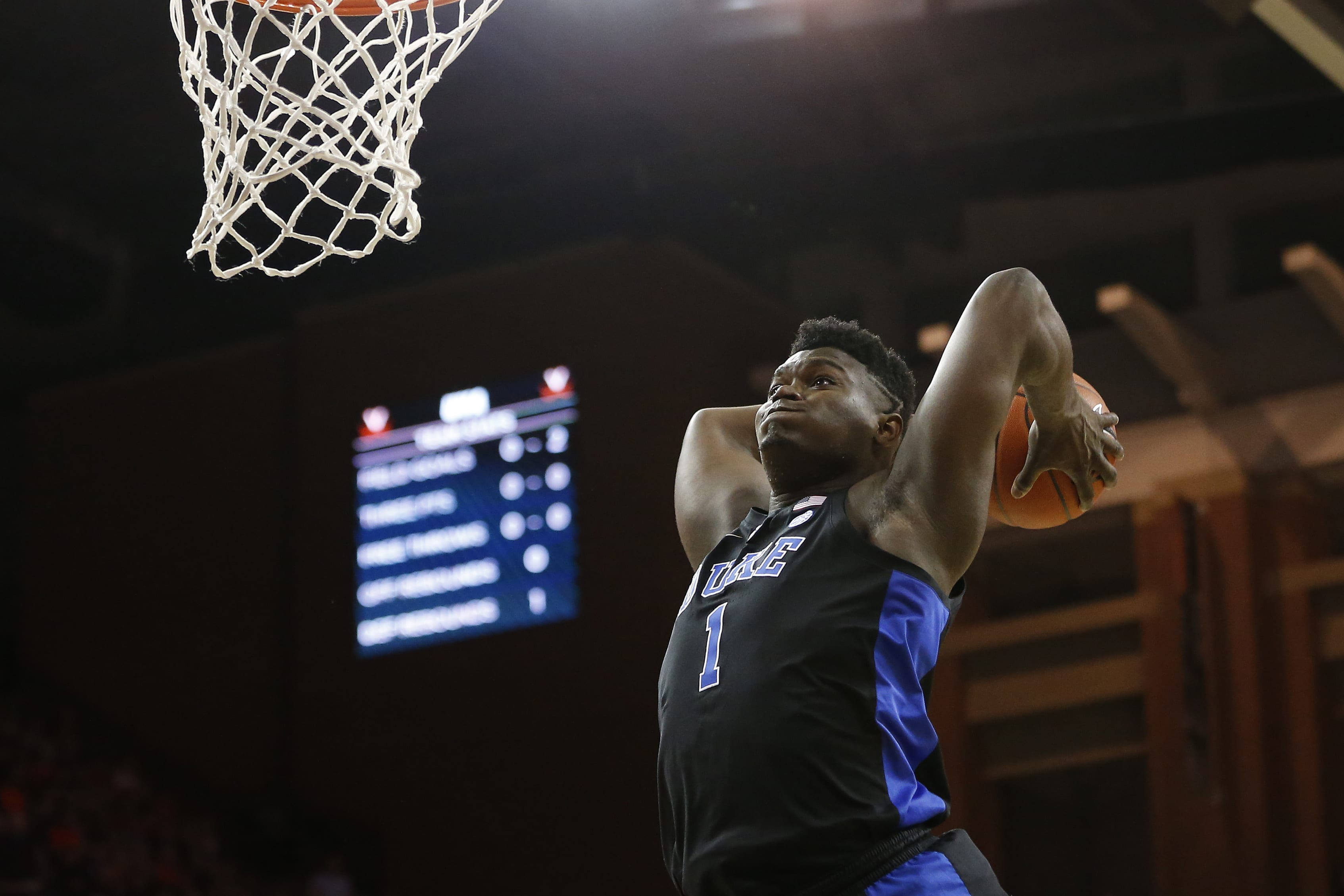 The New York Knicks could draft Zion Williamson if they win out in the NBA lottery.