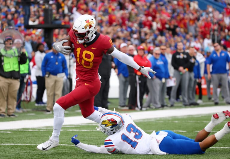 Could the New York Giants go after Hakeem Butler in the 2019 NFL draft?