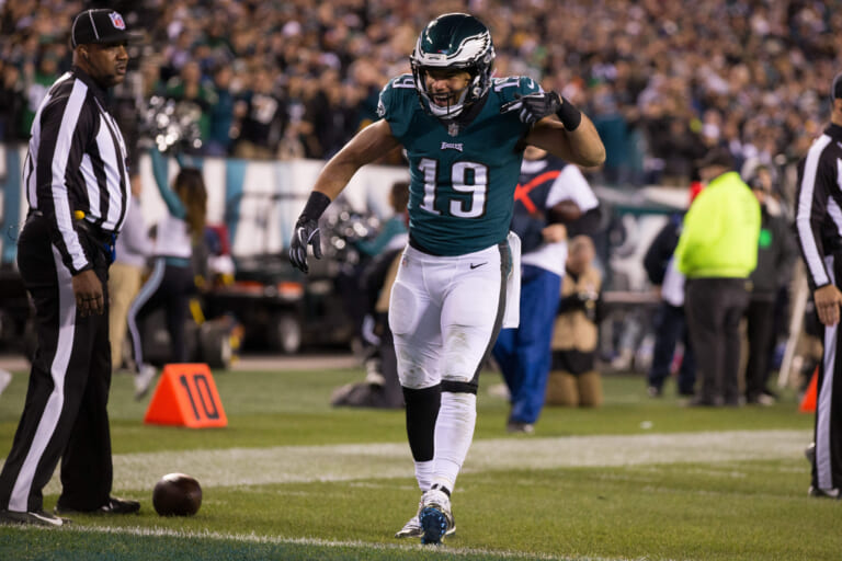 New York Giants signed Golden Tate to a four-year contract during the 2019 offseason.