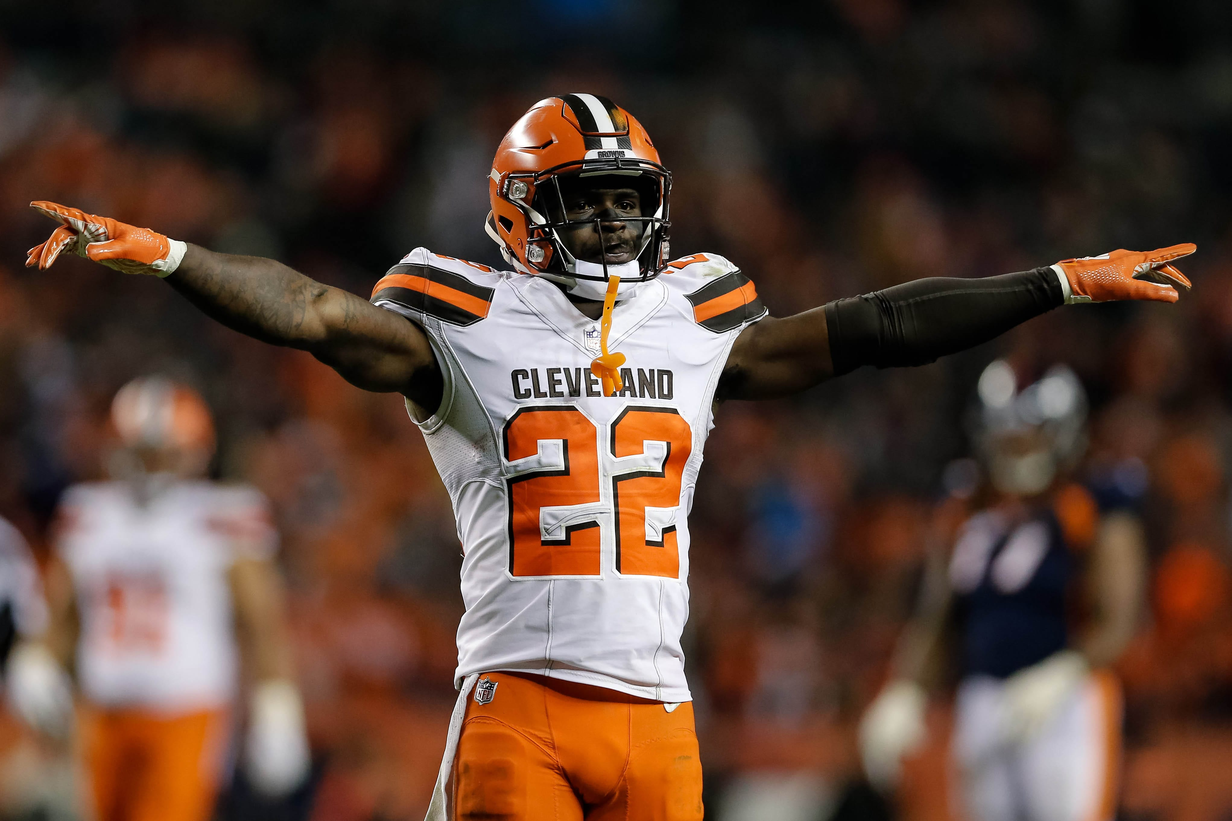 The New York Giants acquired Jabrill Peppers in the Odell Beckham Jr. trade.