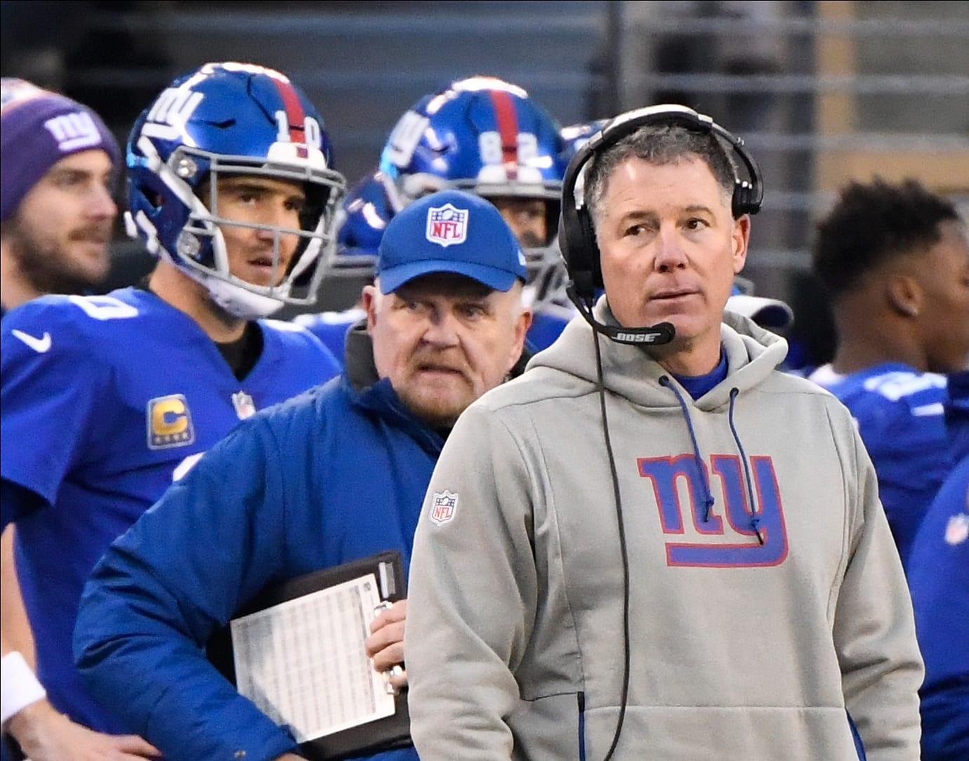 New York Giants Pat Shurmur Owns Up To Thursday S Patriots Loss