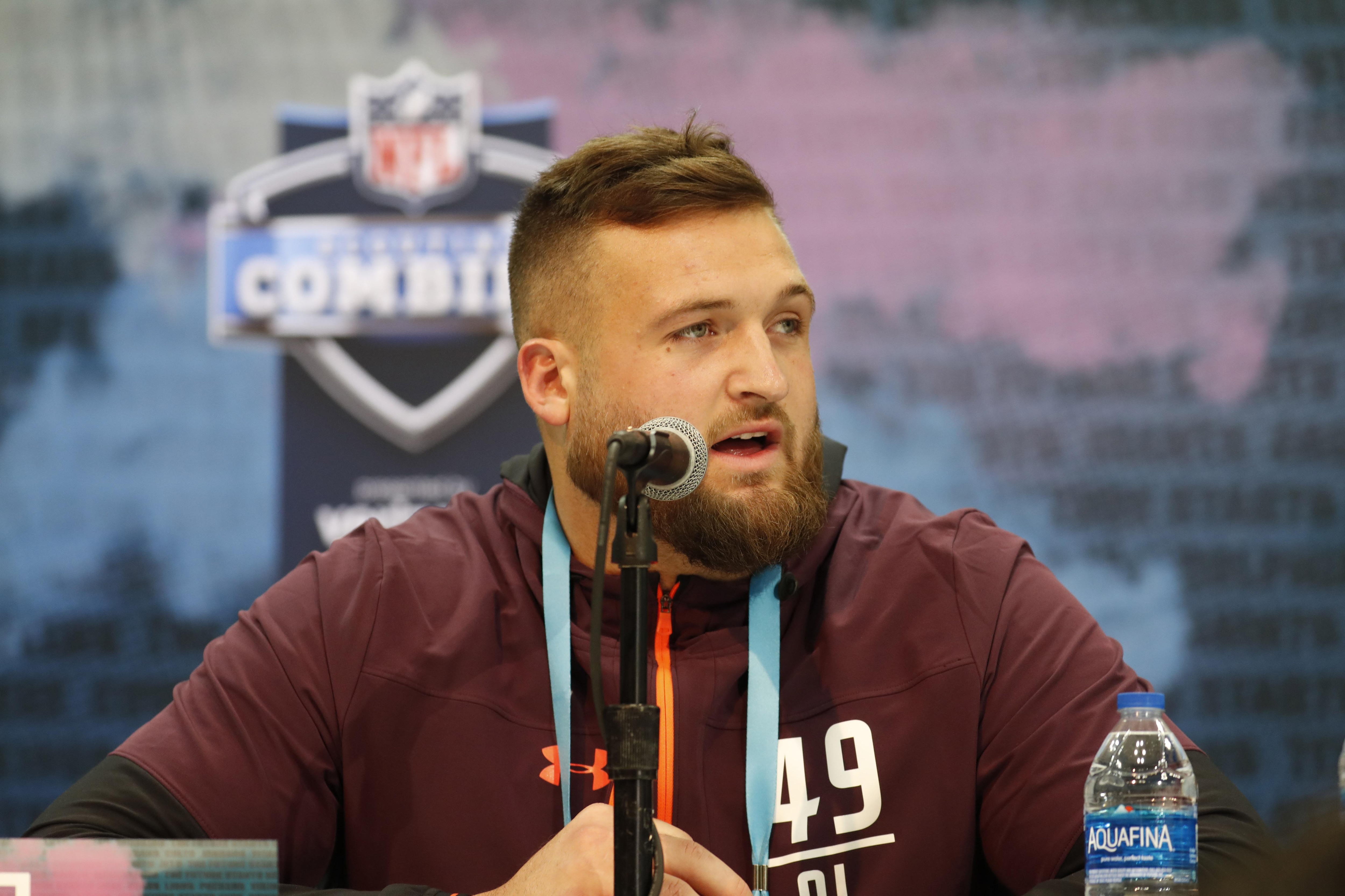 The New York Giants could draft Dalton Risner in the second round of the 2019 NFL draft.