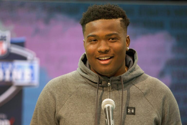 The New York Giants could draft Dwayne Haskins with the 6th overall pick in the 2019 NFL Draft.