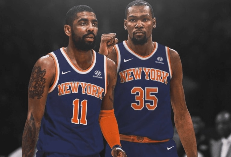 Could the New York Knicks snag both Kevin Durant and Kyrie Irving.