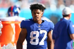 New York Giants: Sterling Shepard limited and Kevin Zeitler participates fully