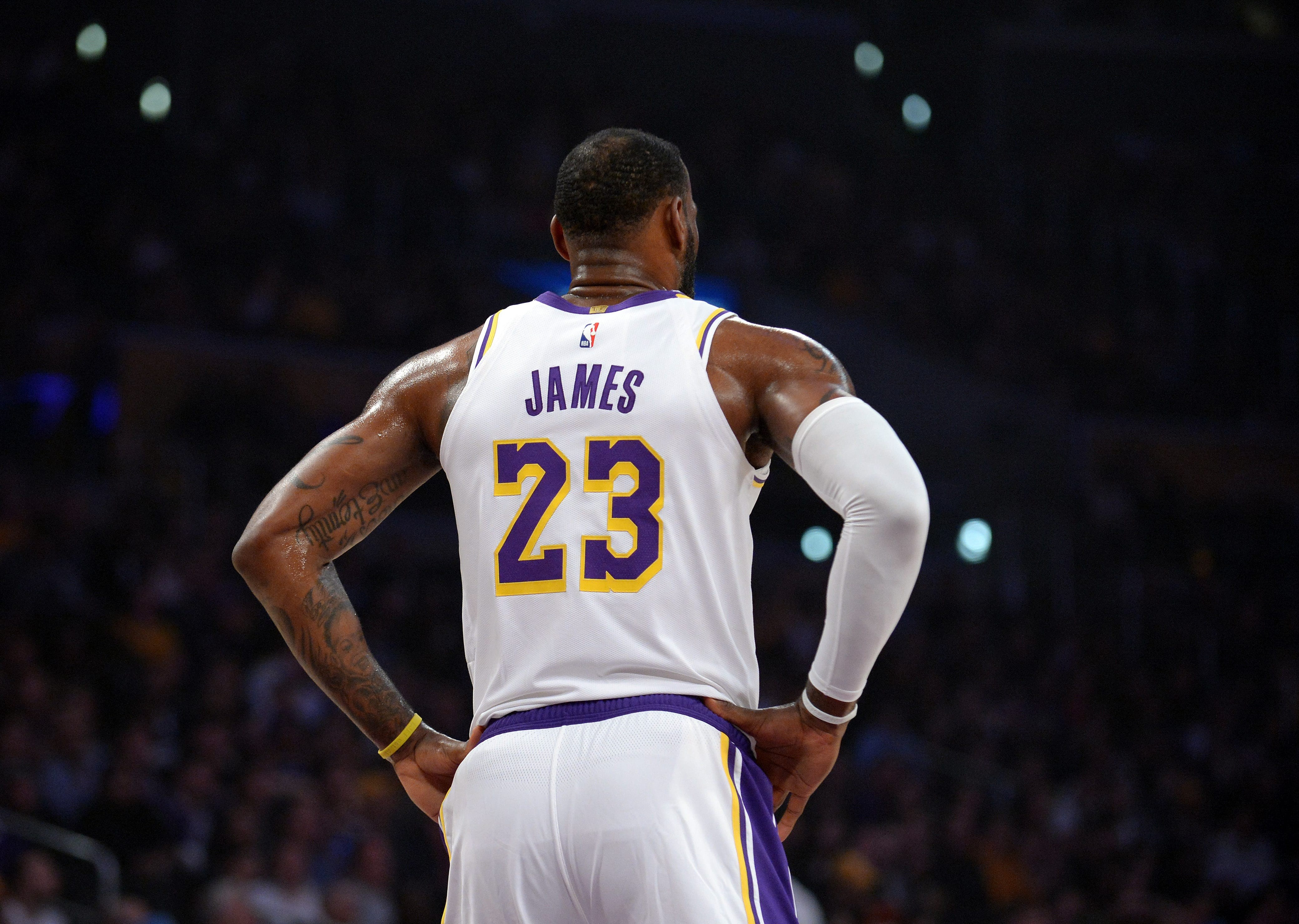 online retailer fb3b8 be37e Are The New York Knicks in LeBron James' Future?