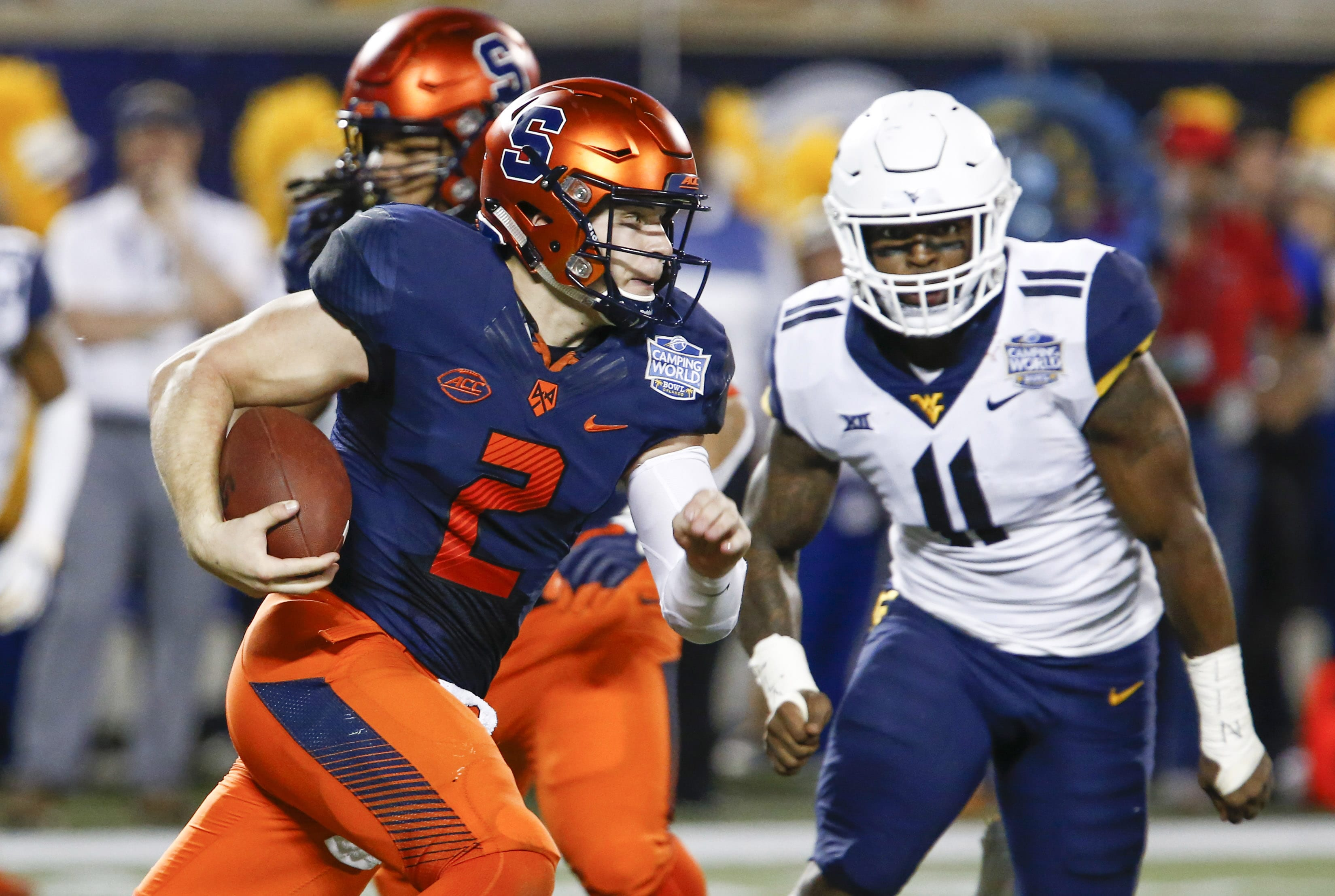The New York Giants have signed undrafted free agent, Eric Dungey.