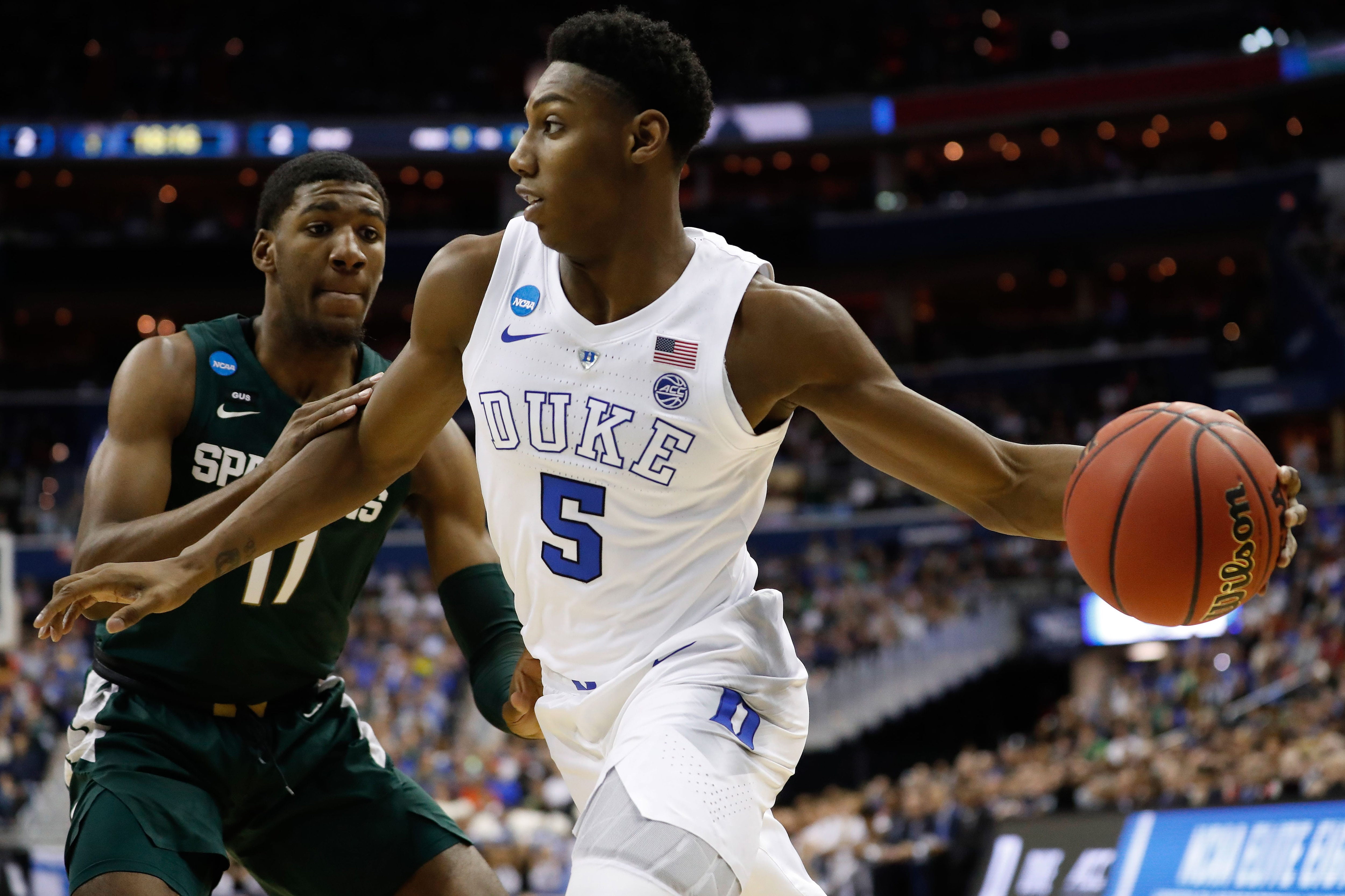 The New York Knicks are considering drafting RJ Barrett with the No. 3 overall pick in the 2019 NBA Draft.