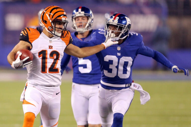 Could the New York Giants bring back Coty Sensabaugh as a reserve option?