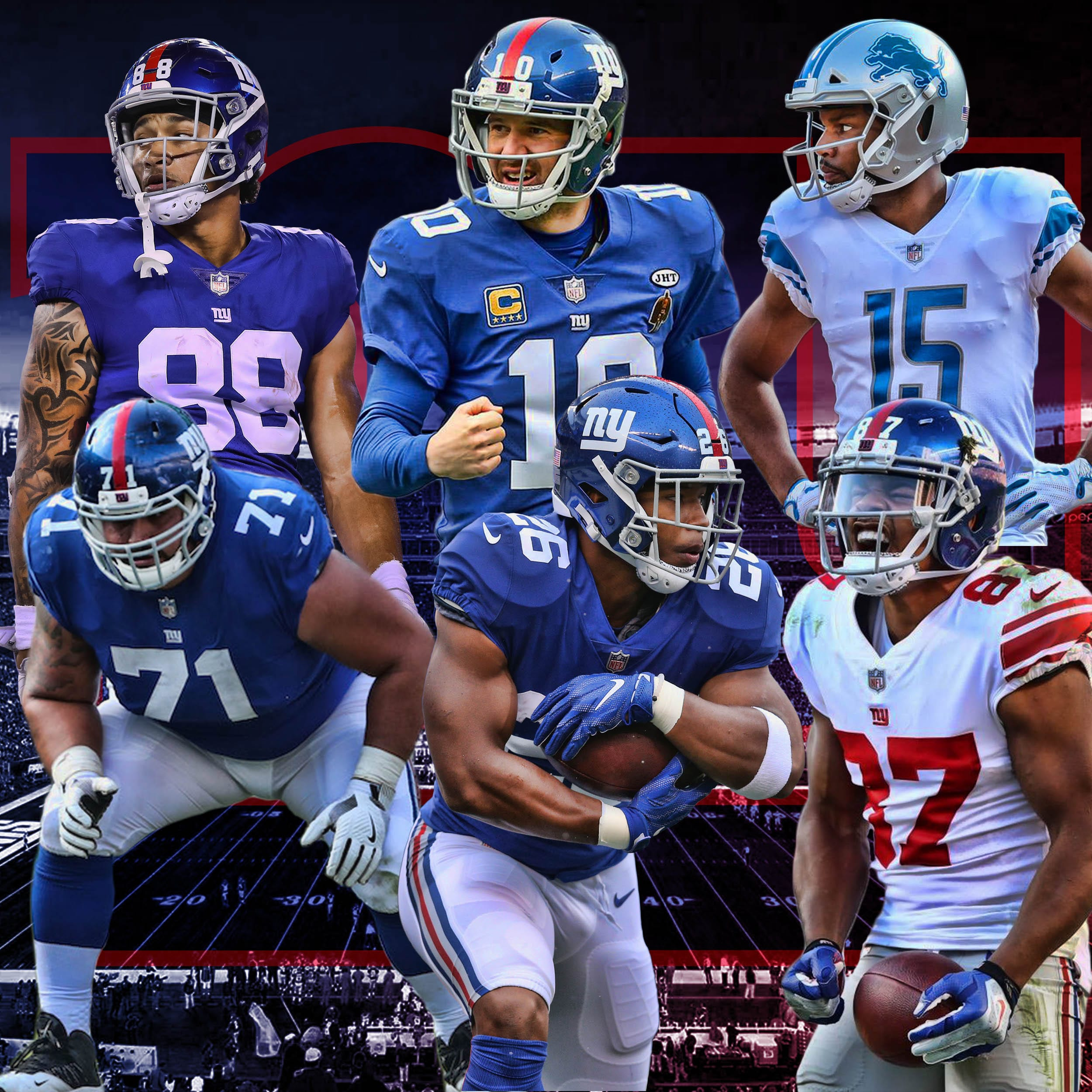 New York Giants Every Position On Offense Ranked From Best