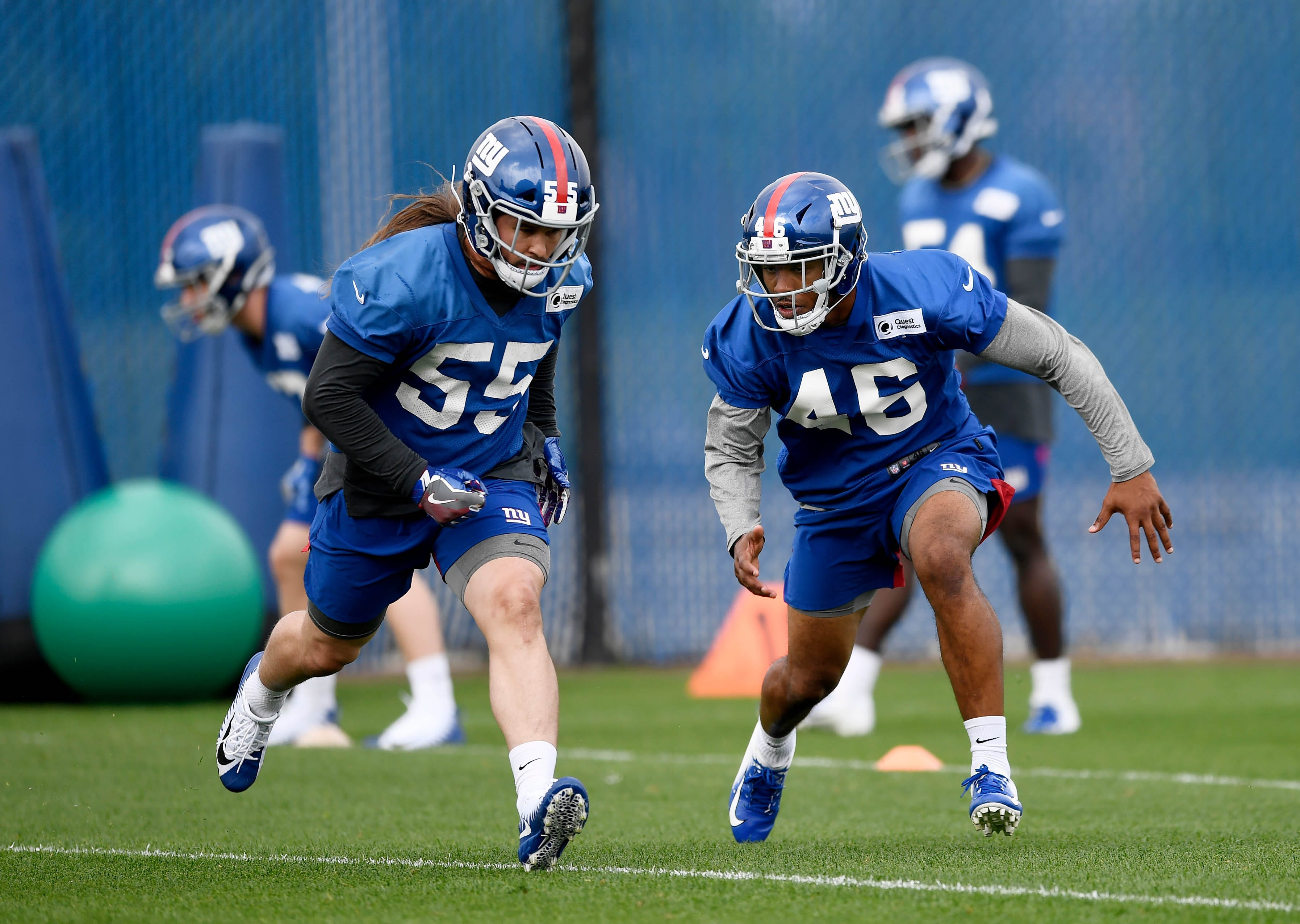 Cheap New York Giants undrafted safety Mark McLaurin fighting for roster spot  hot sale