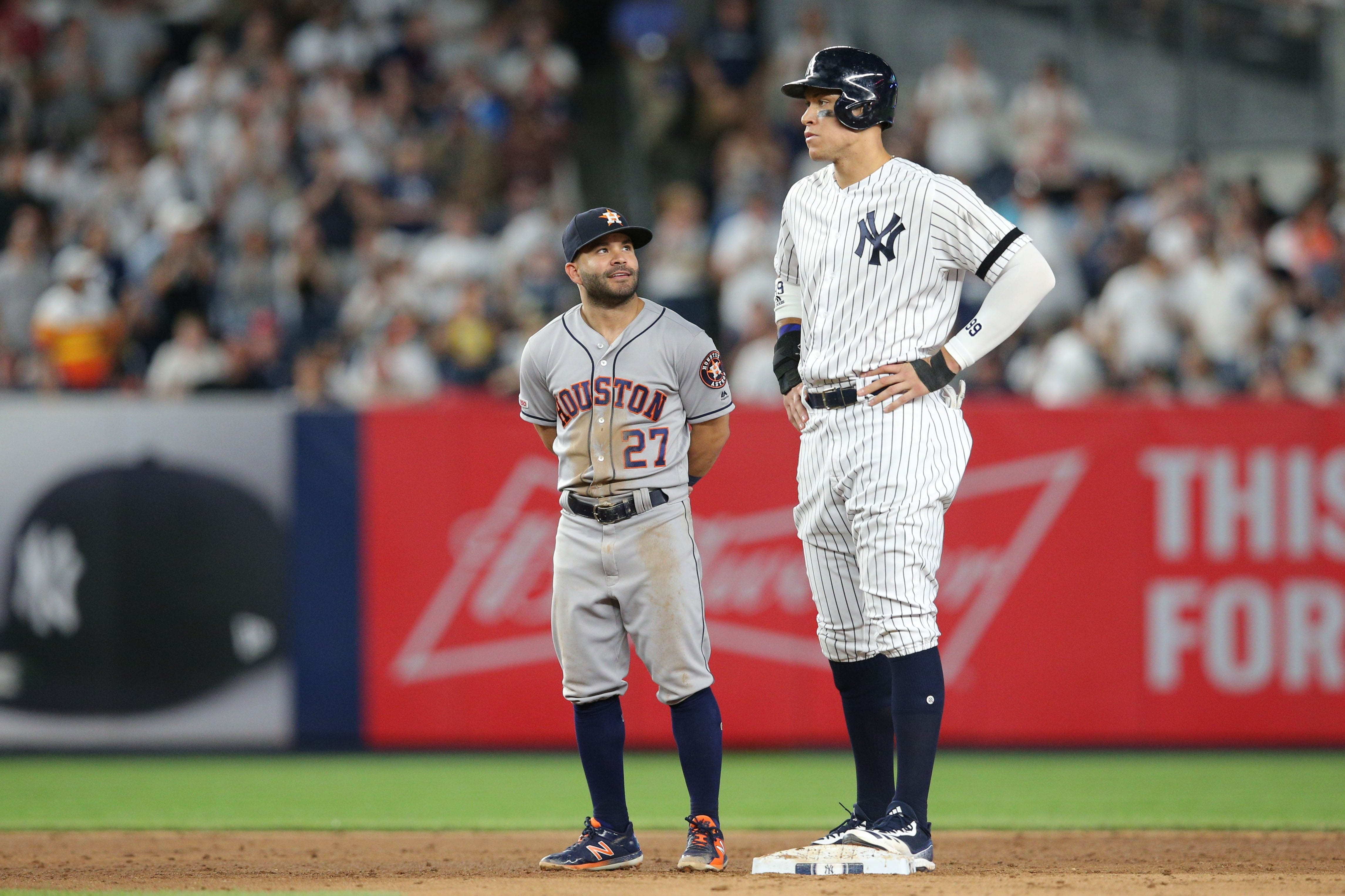 New York Yankees, Aaron Judge, Jose Altuve