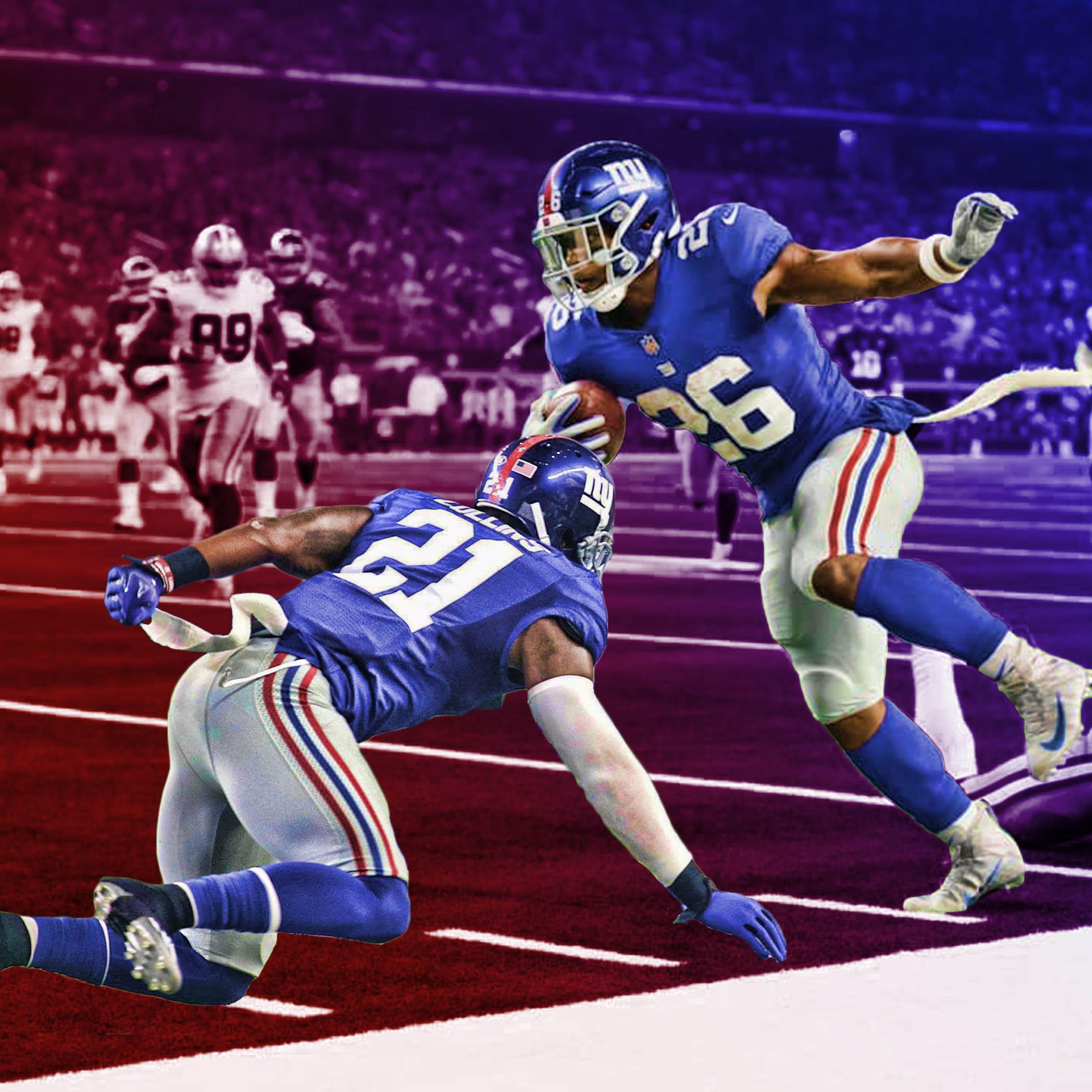 New York Giants, Saquon Barkley, Landon Collins