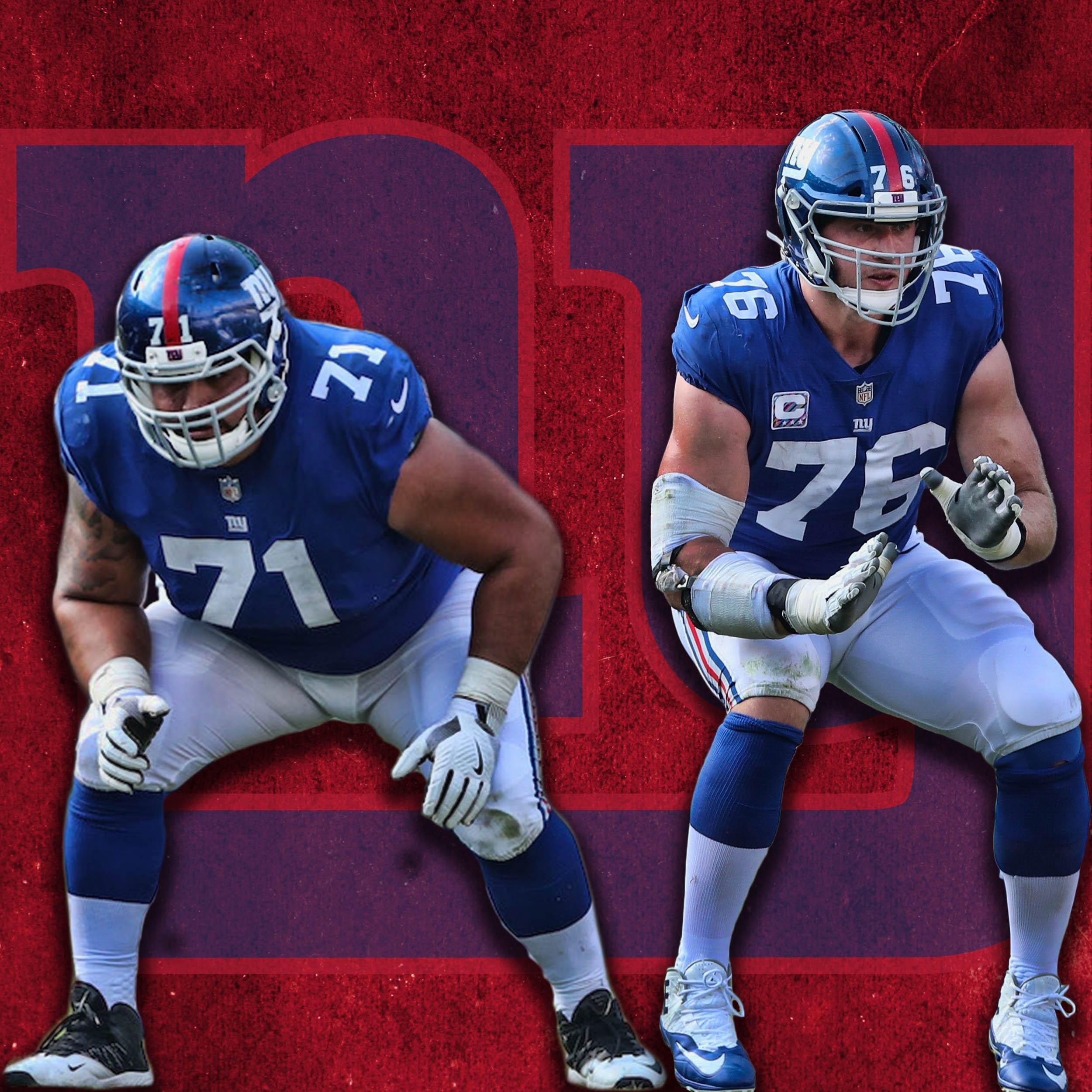 New York Giants, Will Hernandez, Nate Solder