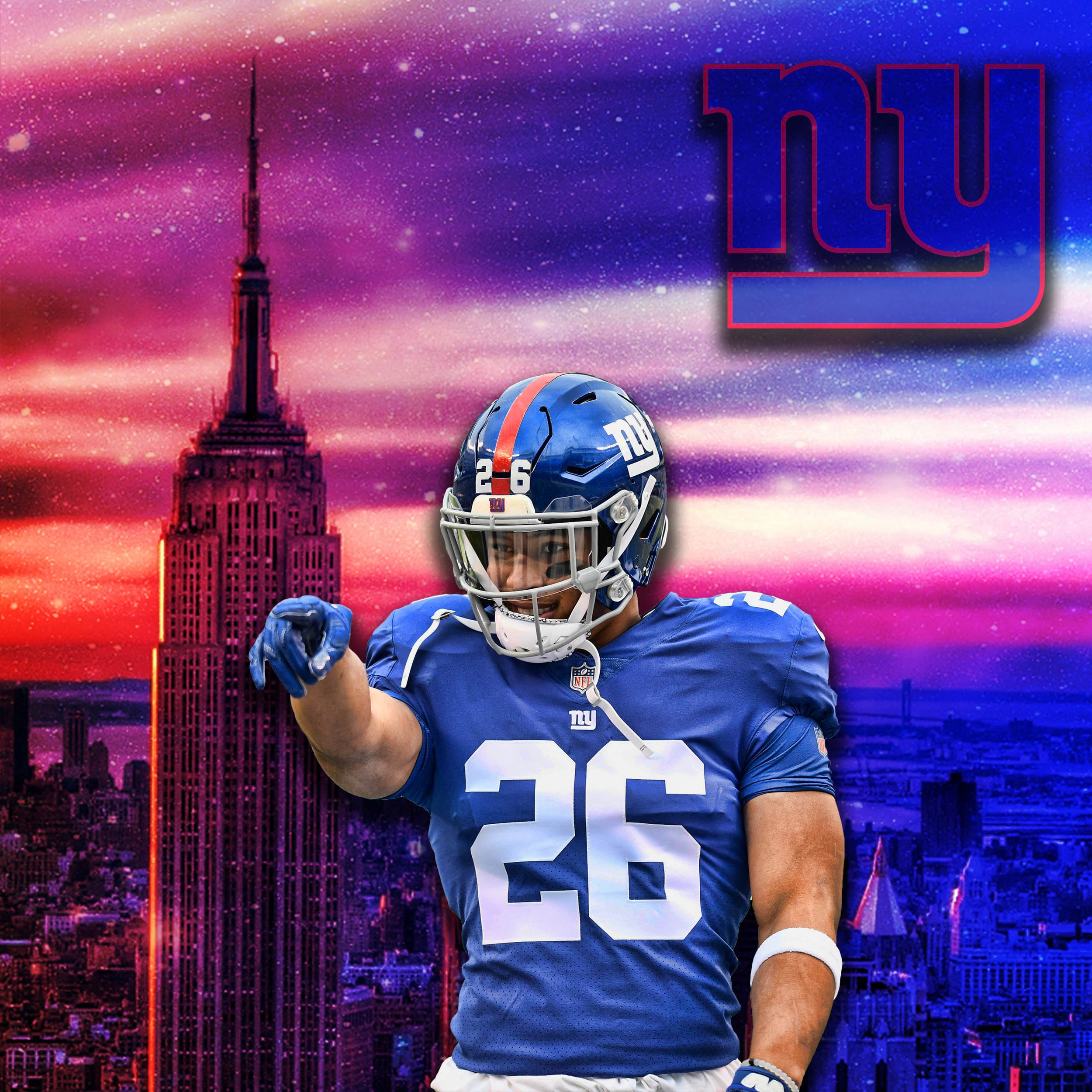 reputable site b86b2 bcd84 New York Giants: Why It Is No Debate That Saquon Barkley Is ...