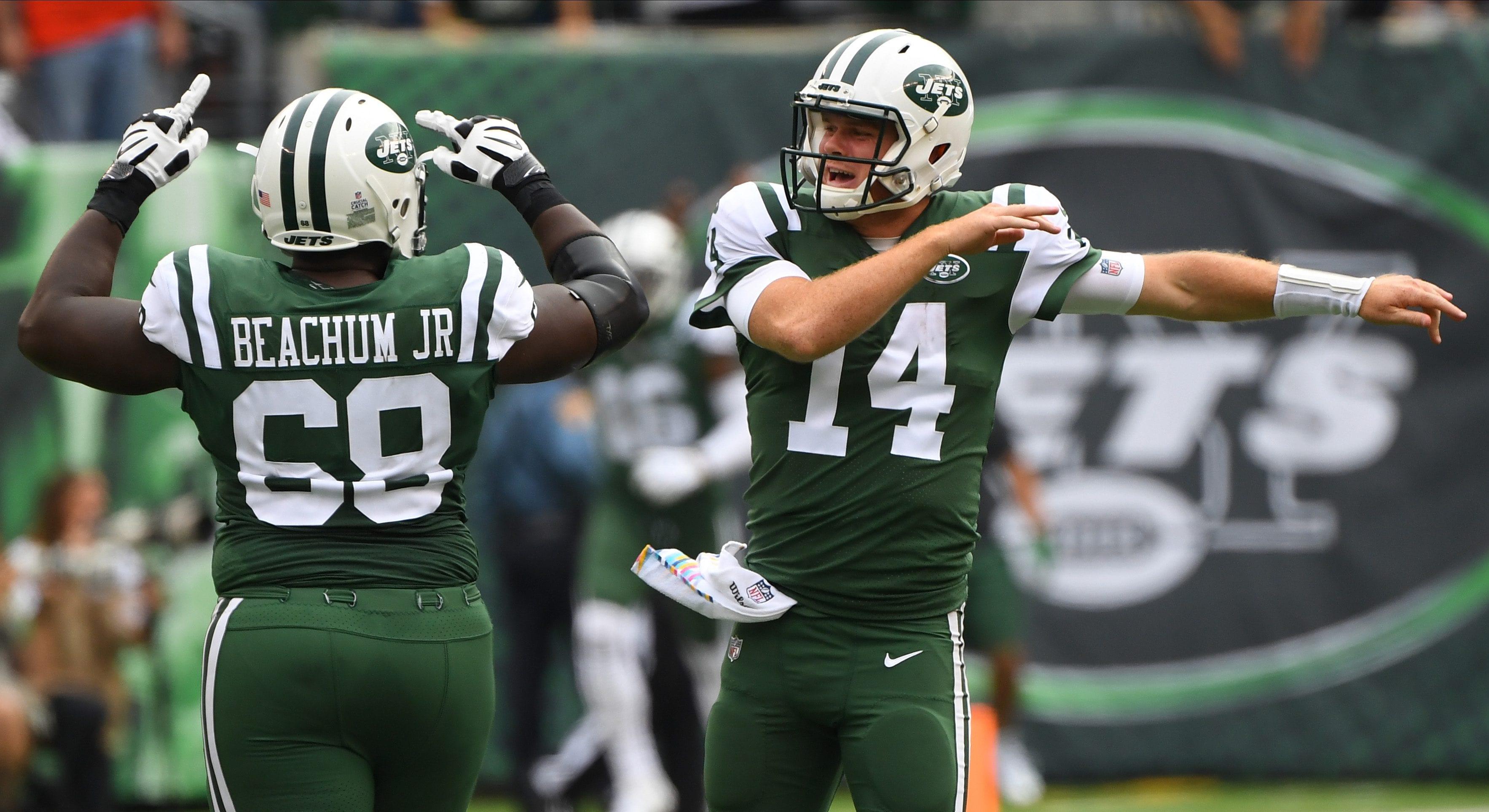 New York Jets, Kelvin Beachum, Sam Darnold