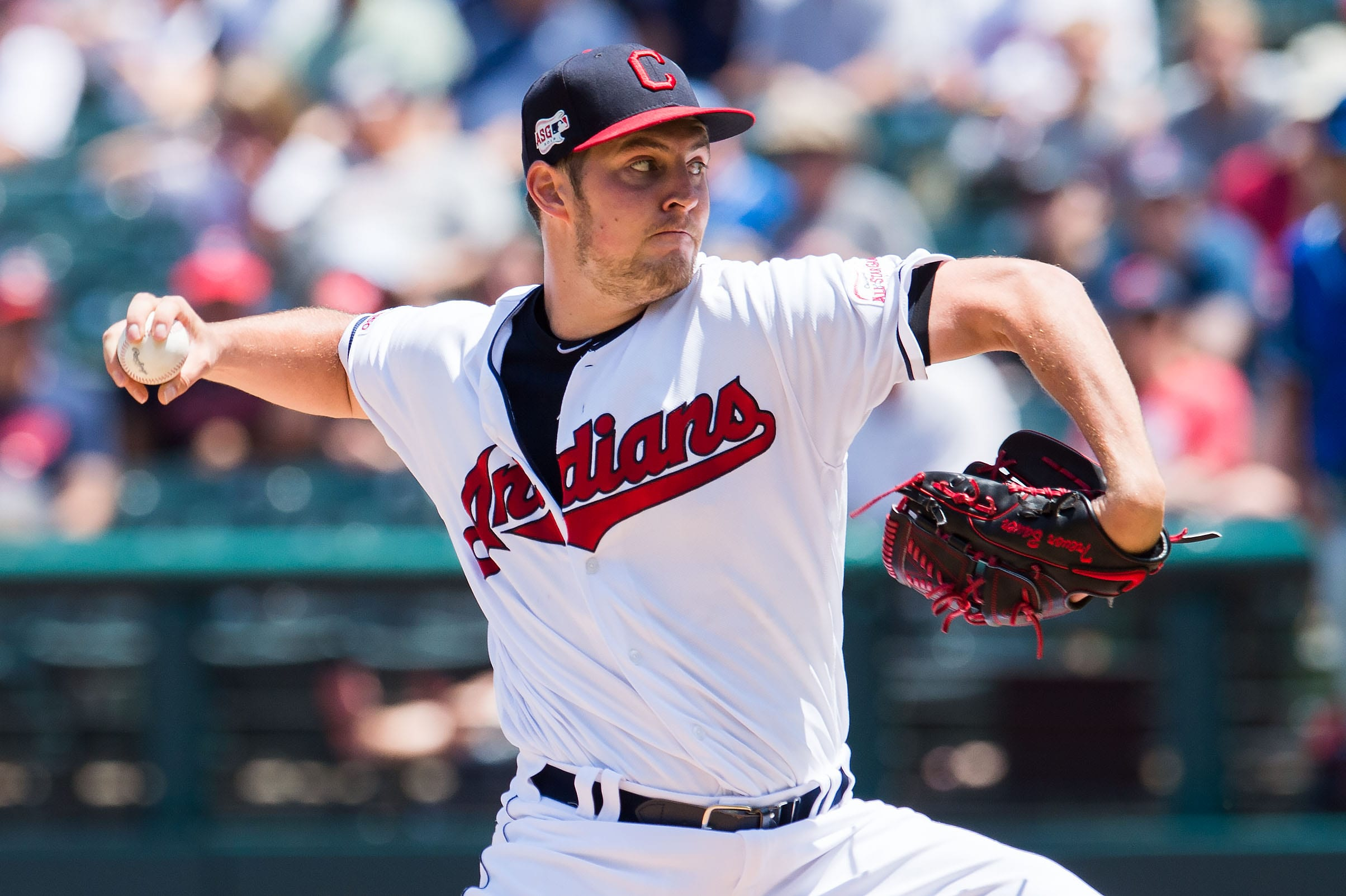 The New York Yankees are looking into Cleveland Indians pitcher, Trevor Bauer.