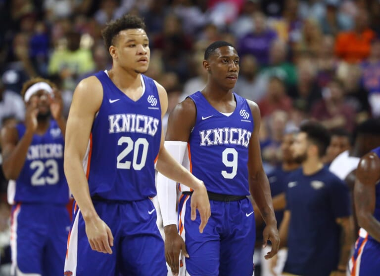 New York Knicks, Kevin Knox, RJ Barrett