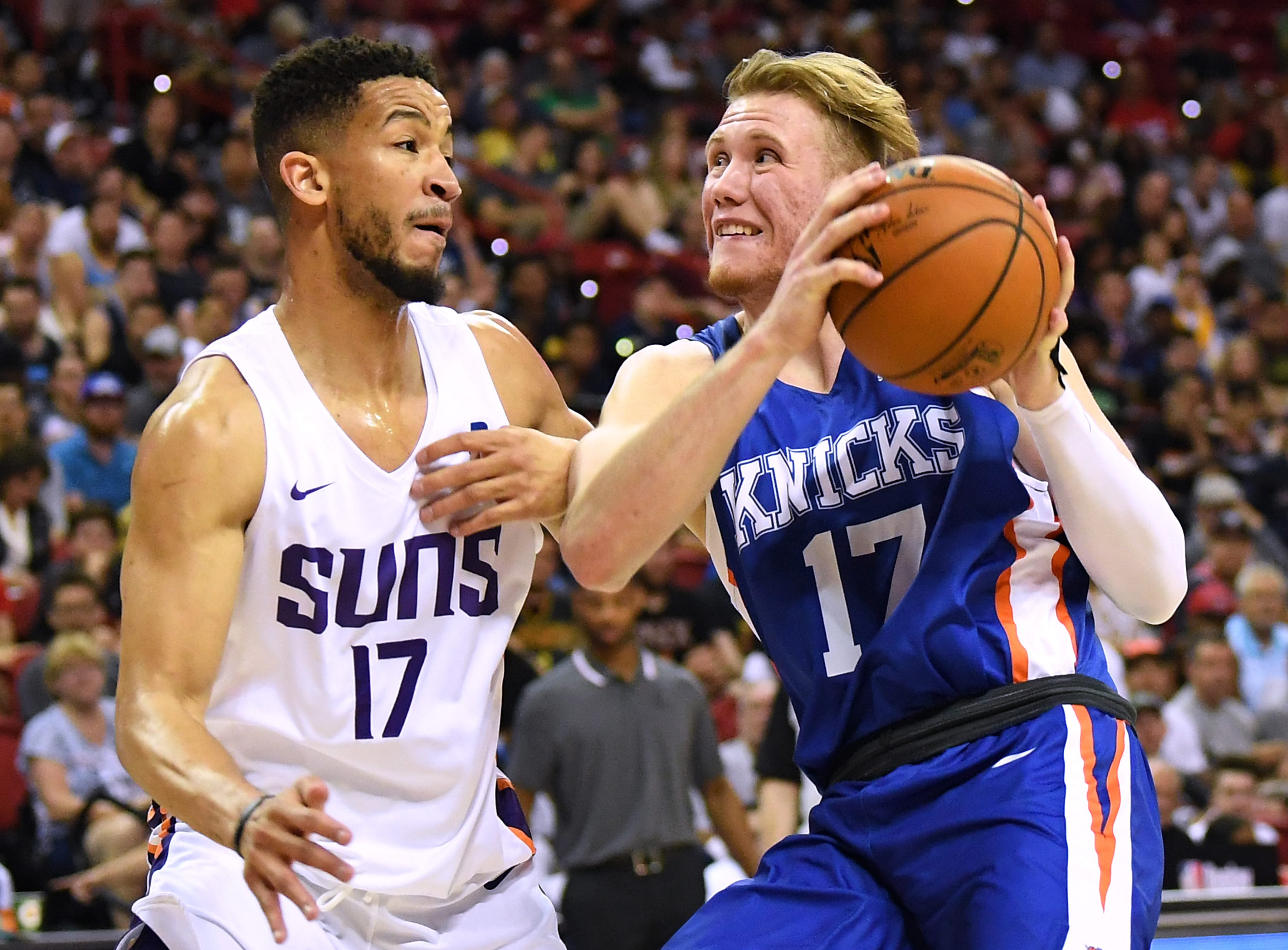 New York Knicks: Can Ignas Brazdeikis be an impact player next season?