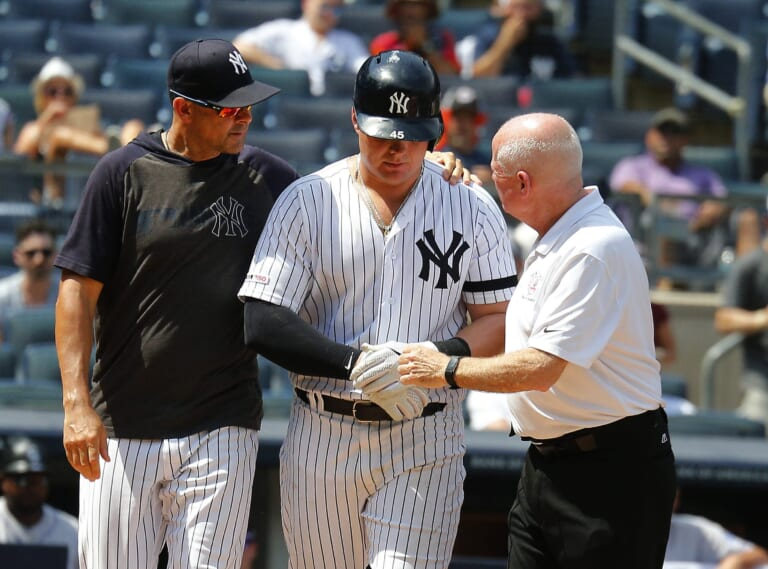 Yankees face injury problems as off-season set to commence: Taillon, Hicks, Voit