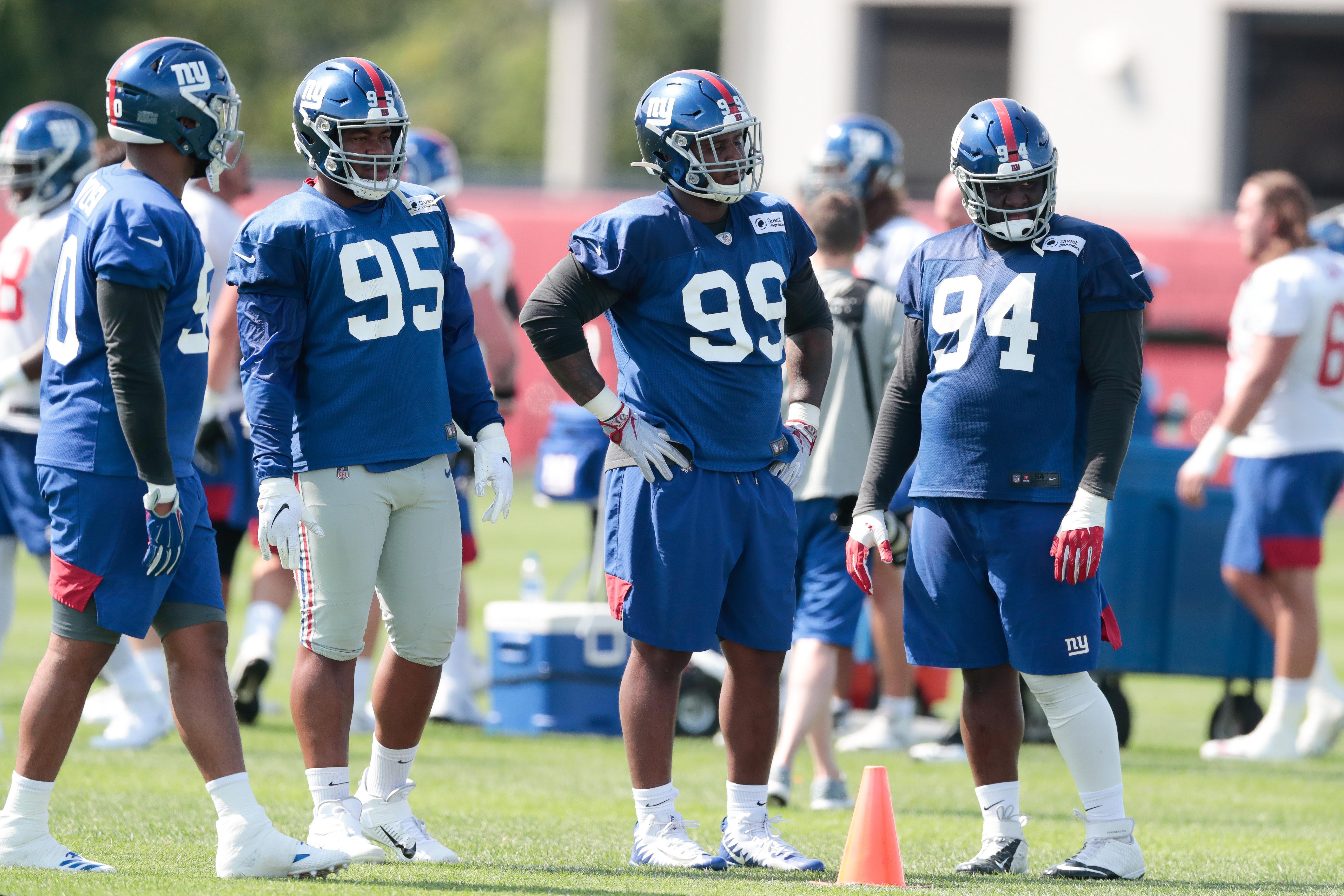 New York Giants, Dalvin Tomlinson, Dexter Lawrence, B.J. Hill