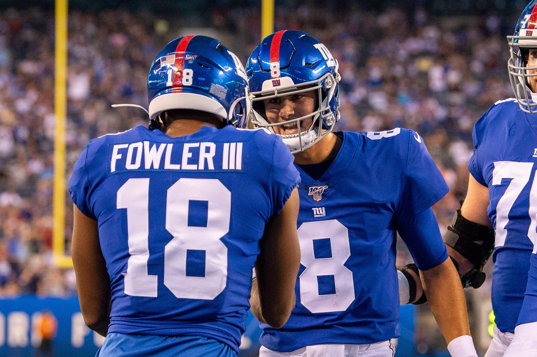 New York Giants, Daniel Jones, Bennie Fowler