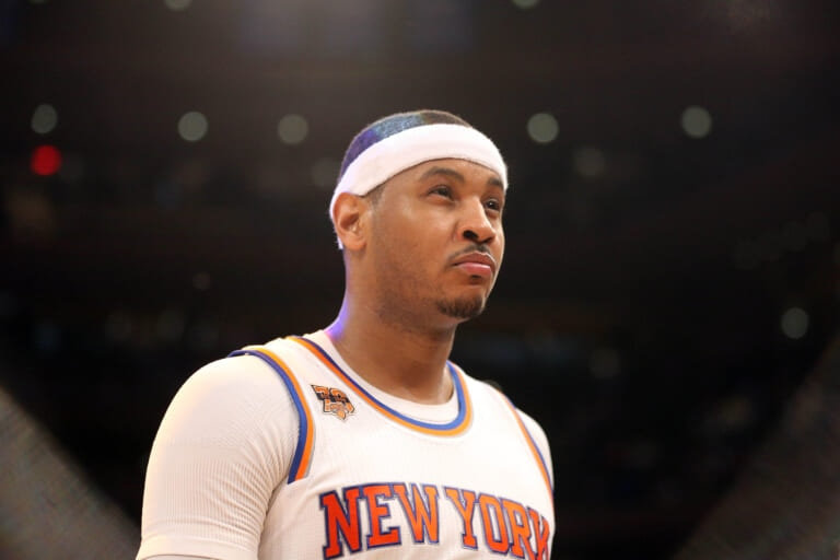 Knicks reunion among Carmelo Anthony's options during free agency