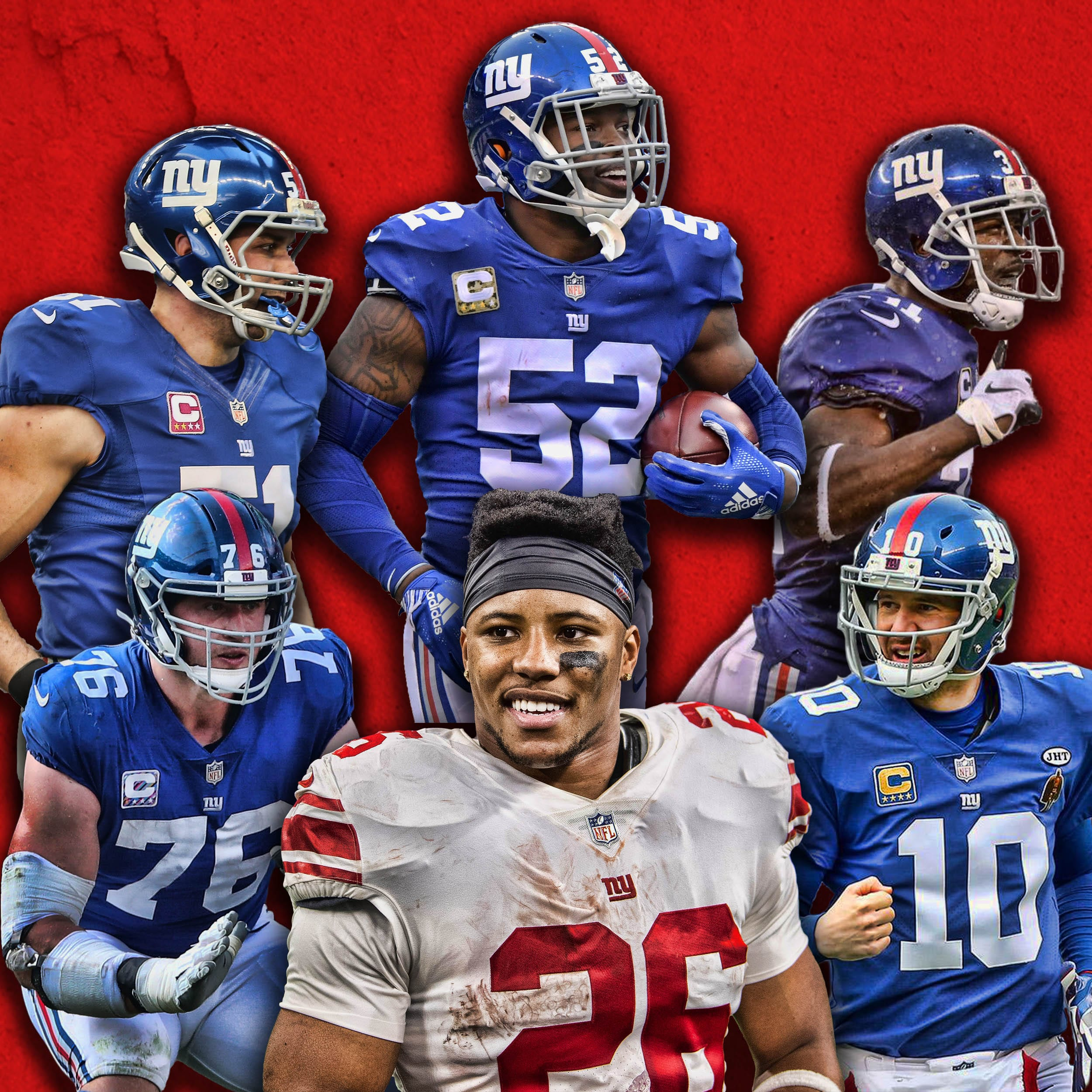 New York Giants 2019 Team Captains Announced