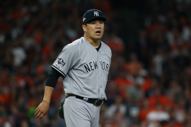 """There is a """"good chance"""" Tanaka pitches elsewhere in 2021, but the Yankees are still in touch with him"""