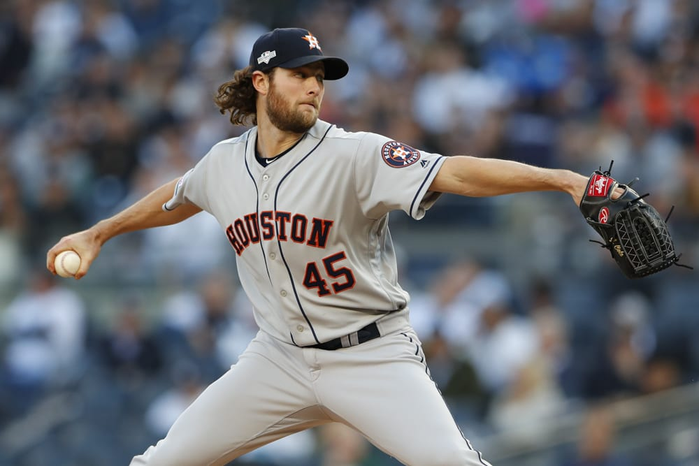 New York Yankees to pursue Gerrit Cole this upcoming offseason?
