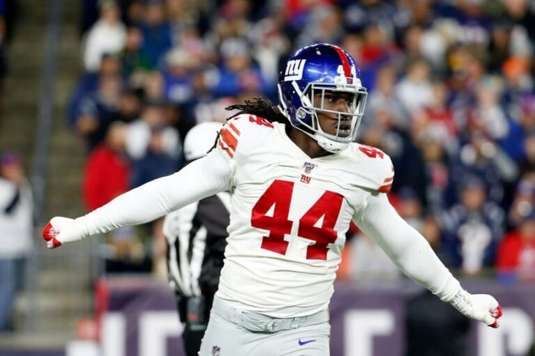 New York Giants: Markus Golden hits out at team over playing time