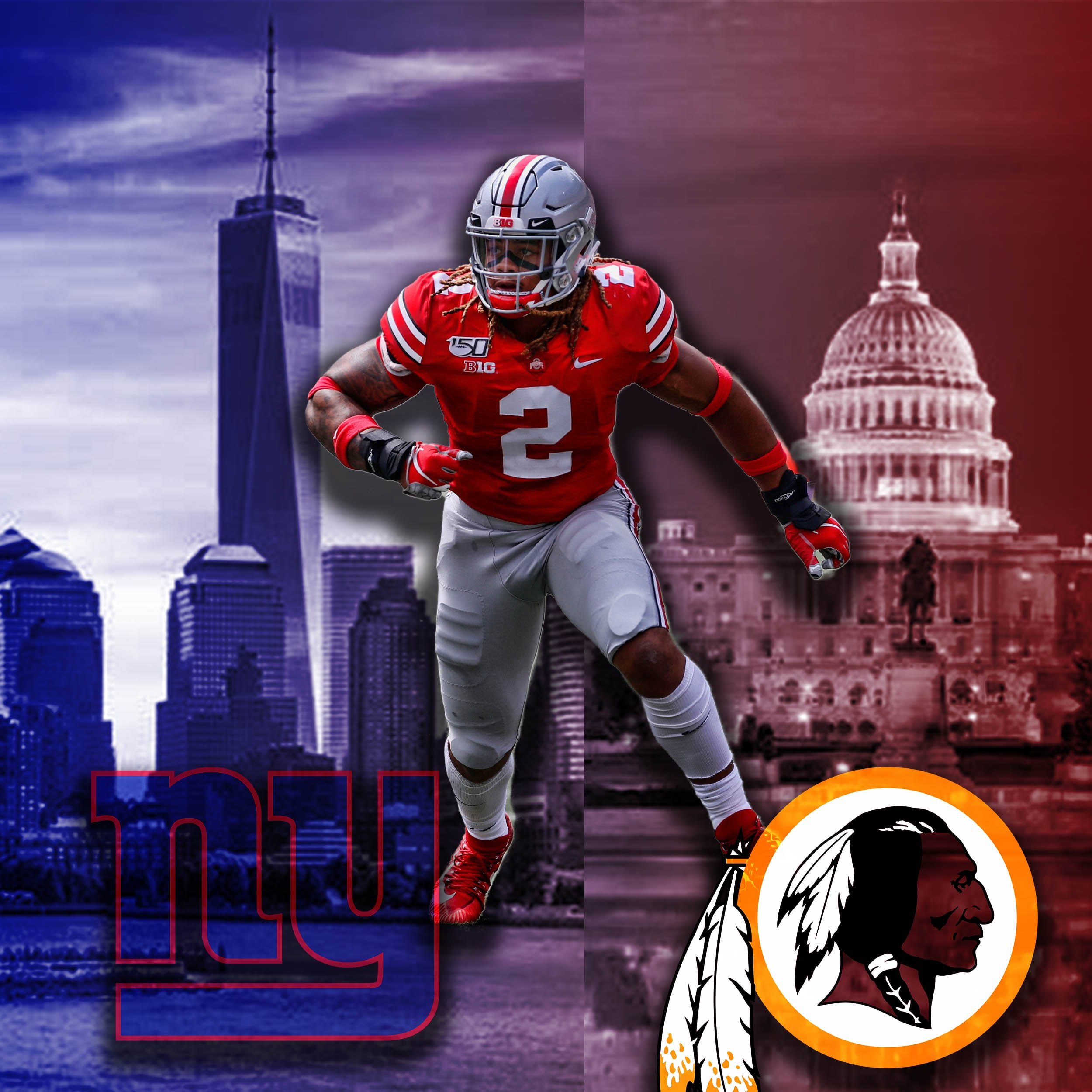 New York Giants A Look Ahead To The Week 16 Chase Young Bowl