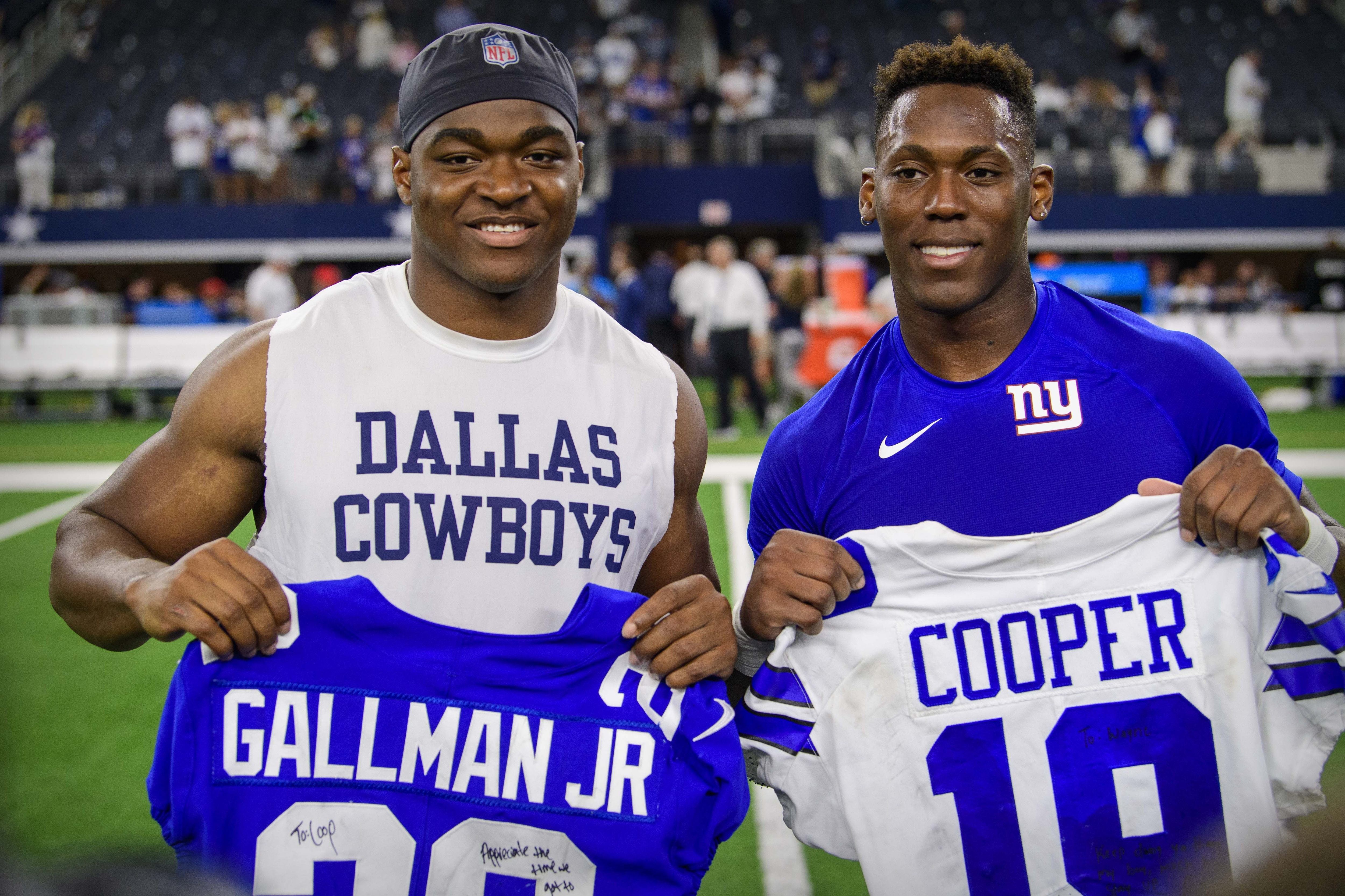 New York Giants, Dallas Cowboys, Amari Cooper, Wayne Gallman
