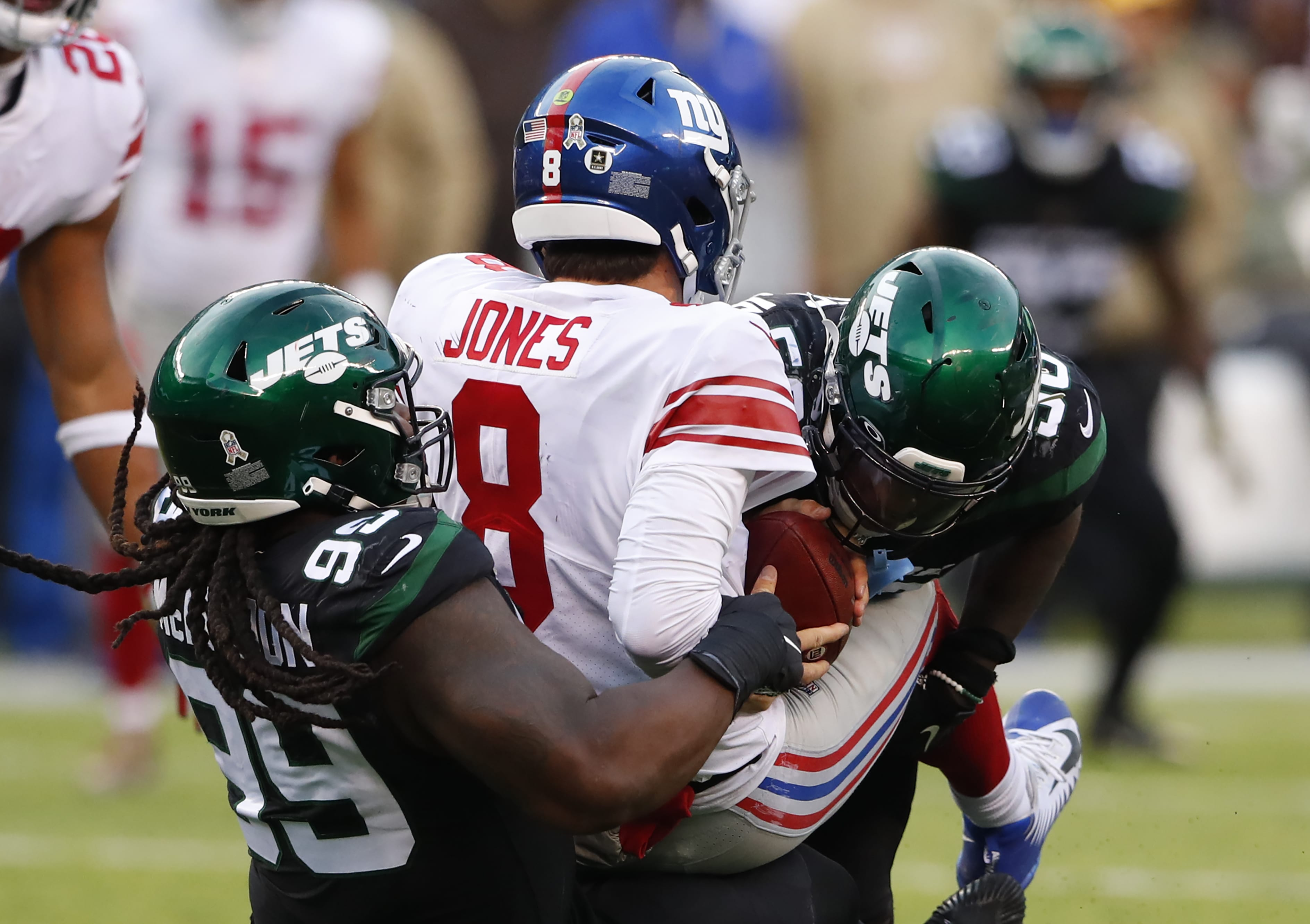 New York Jets, New York Giants, Daniel Jones