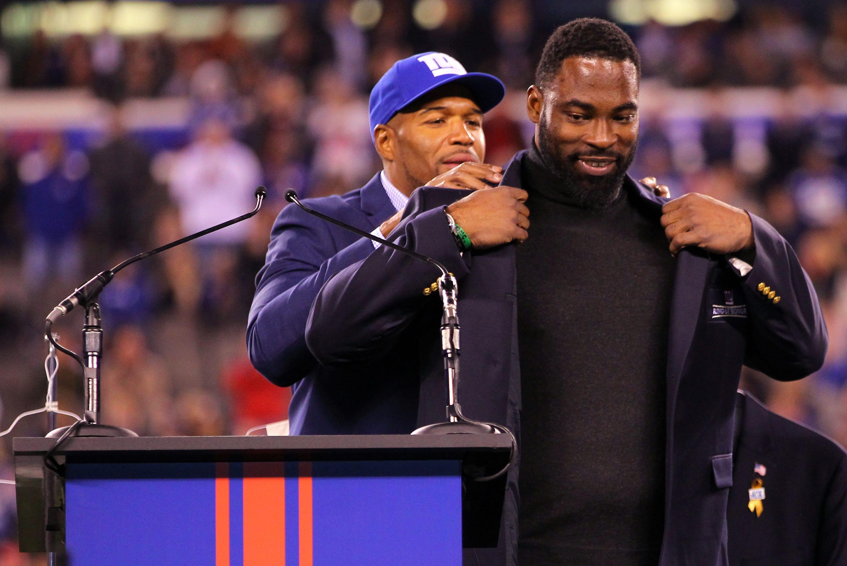 New york Giants, Justin Tuck, Michael Strahan