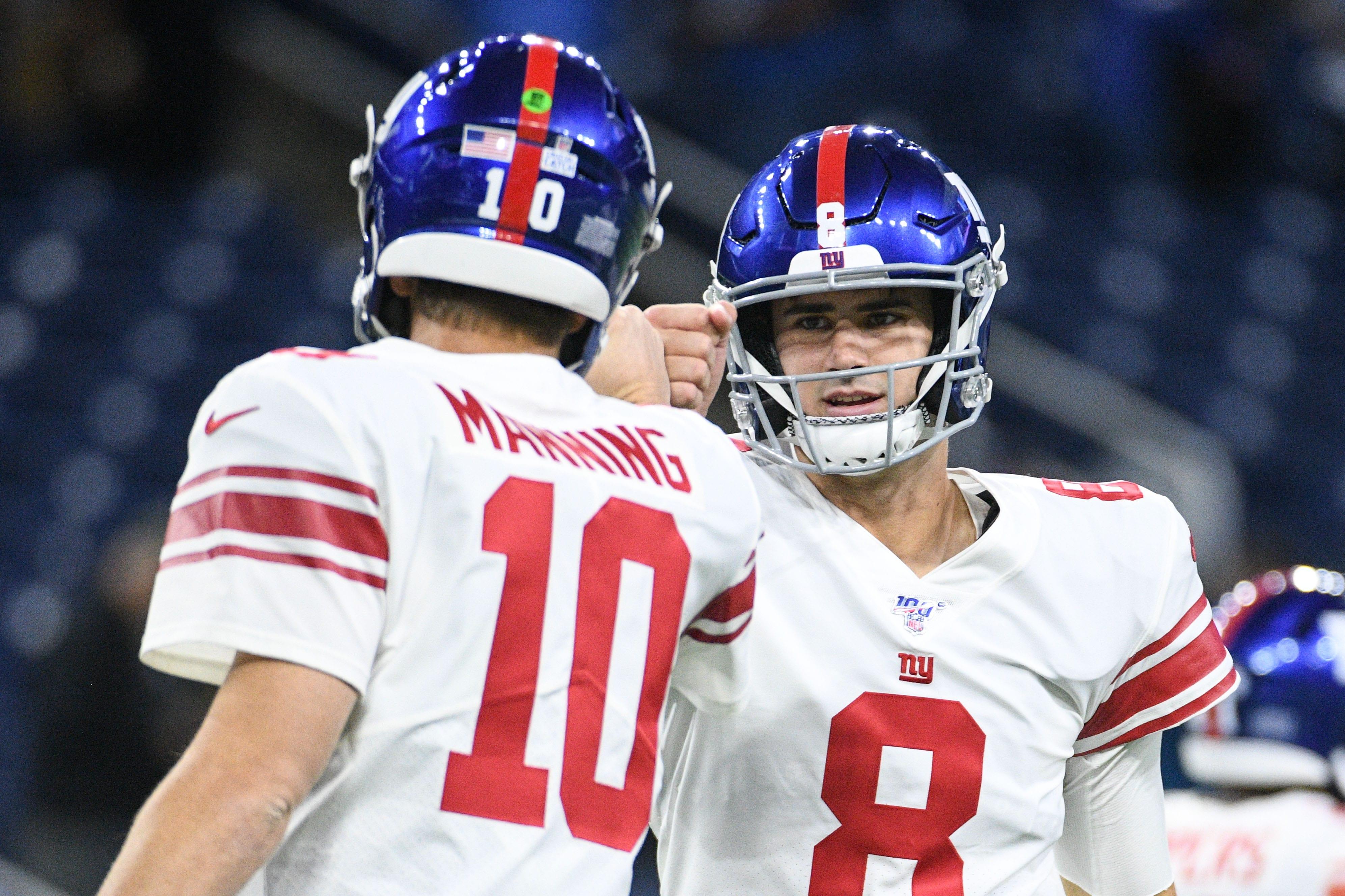New York Giants, Eli Manning, Daniel Jones