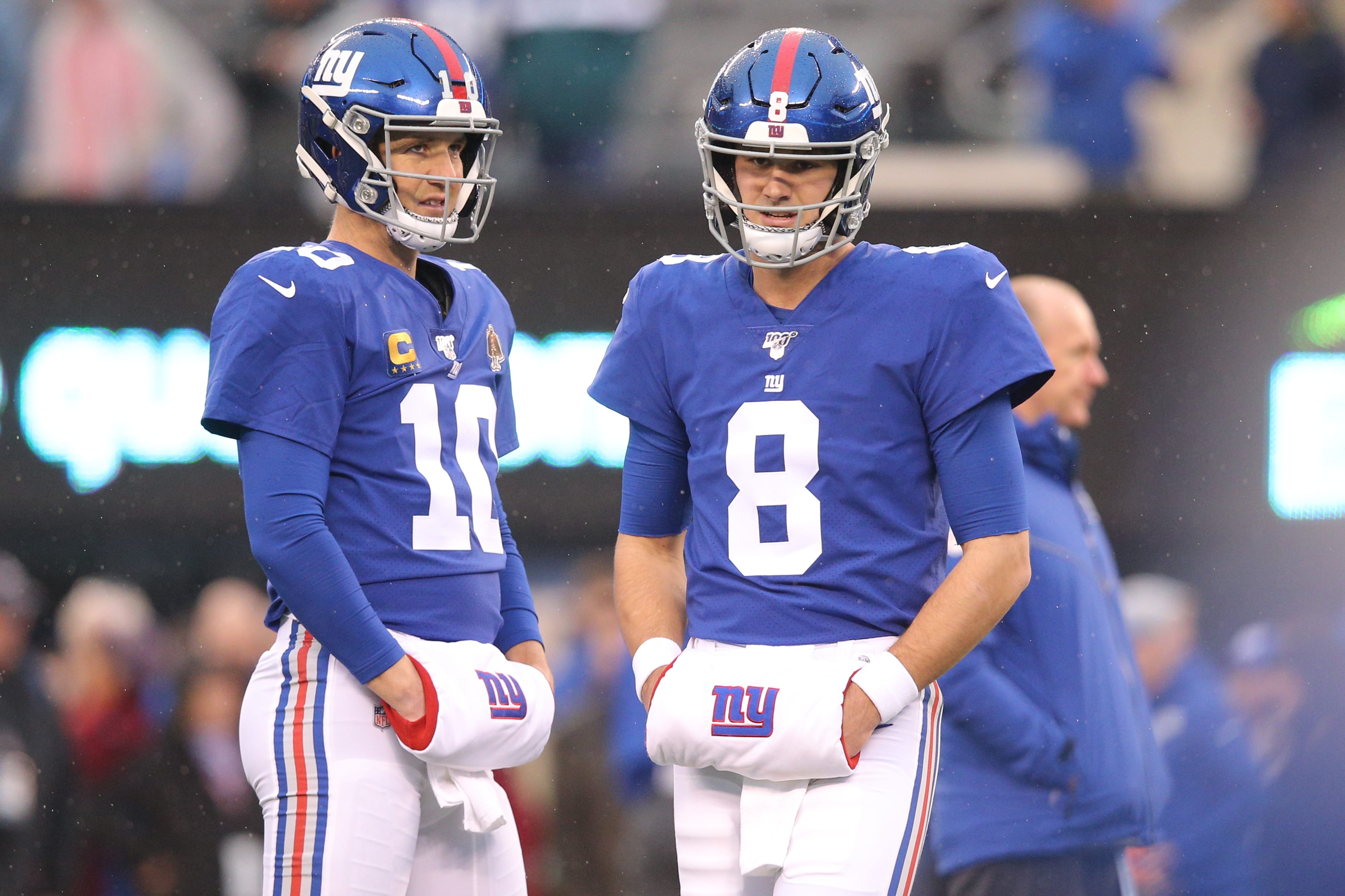 New York Giants, Eli Manning, Daniel Jones